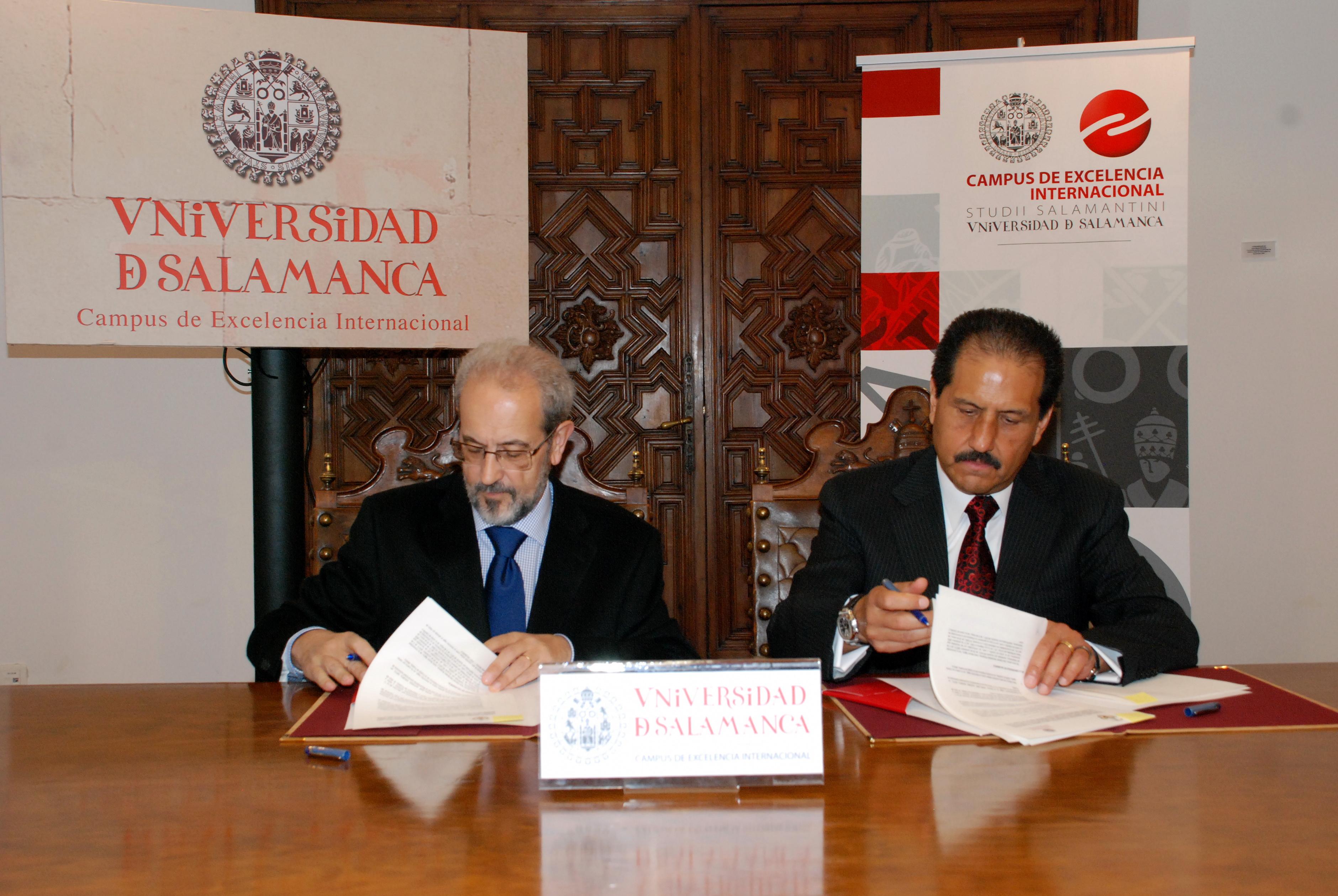 La Universidad de Salamanca suscribe un convenio de colaboración con la Benemérita Universidad Autónoma de Puebla
