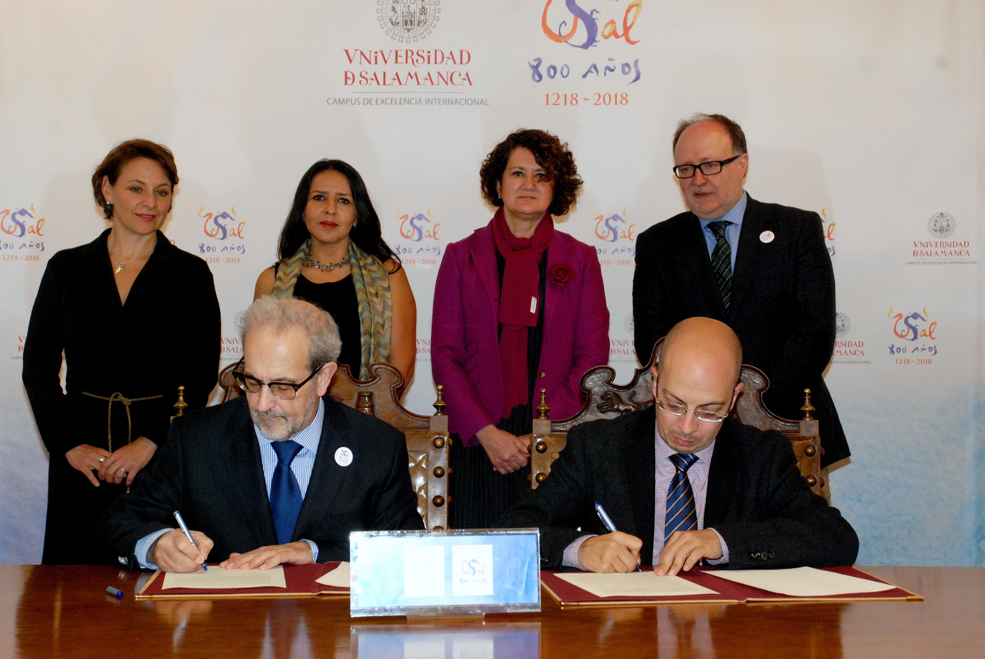 La USAL y la UNAM firman un convenio de colaboración para el desarrollo de actividades académicas, culturales y editoriales