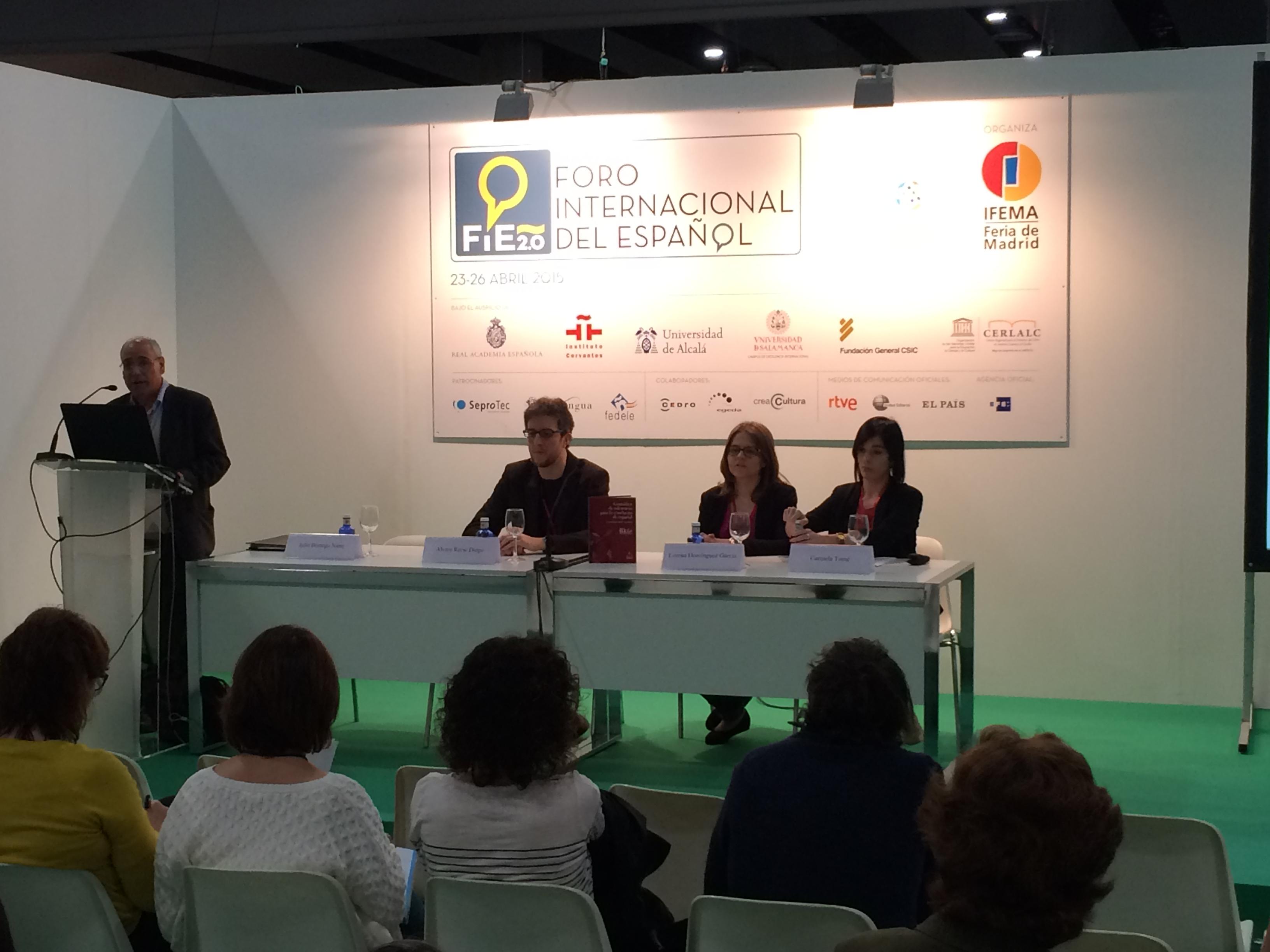La Universidad de Salamanca y Cursos Internacionales dan a conocer la creación de materiales y contenidos gramaticales para la enseñanza de la Lengua española en el Foro Internacional del Español