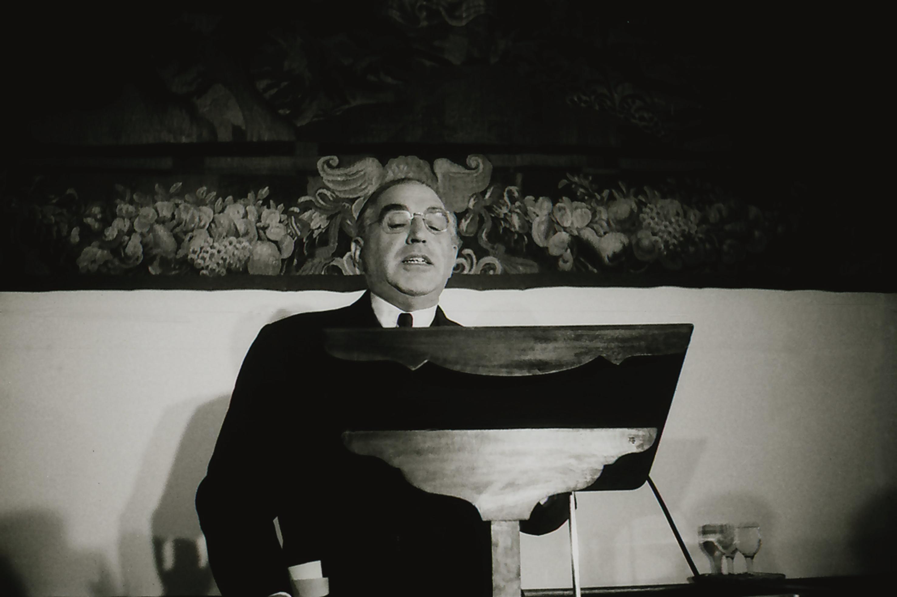"""Presentación de la exposición """"Guzmán Gombáu fotografía el VII Centenario de la Universidad de Salamanca (1953-1954)"""""""