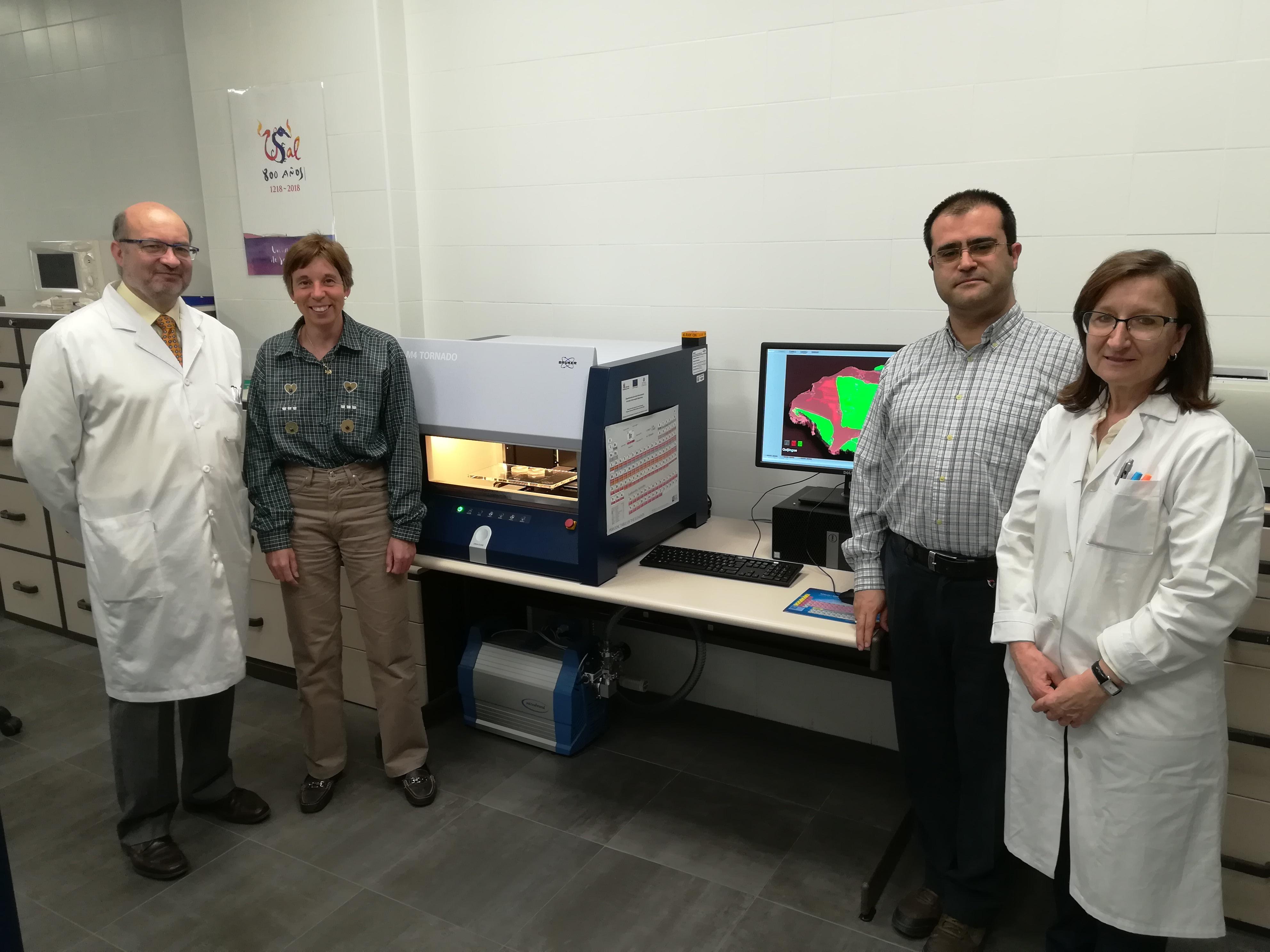 El Servicio de Difracción de Rayos X de la Universidad de Salamanca adquiere un sofisticado equipo para el análisis universal de materiales