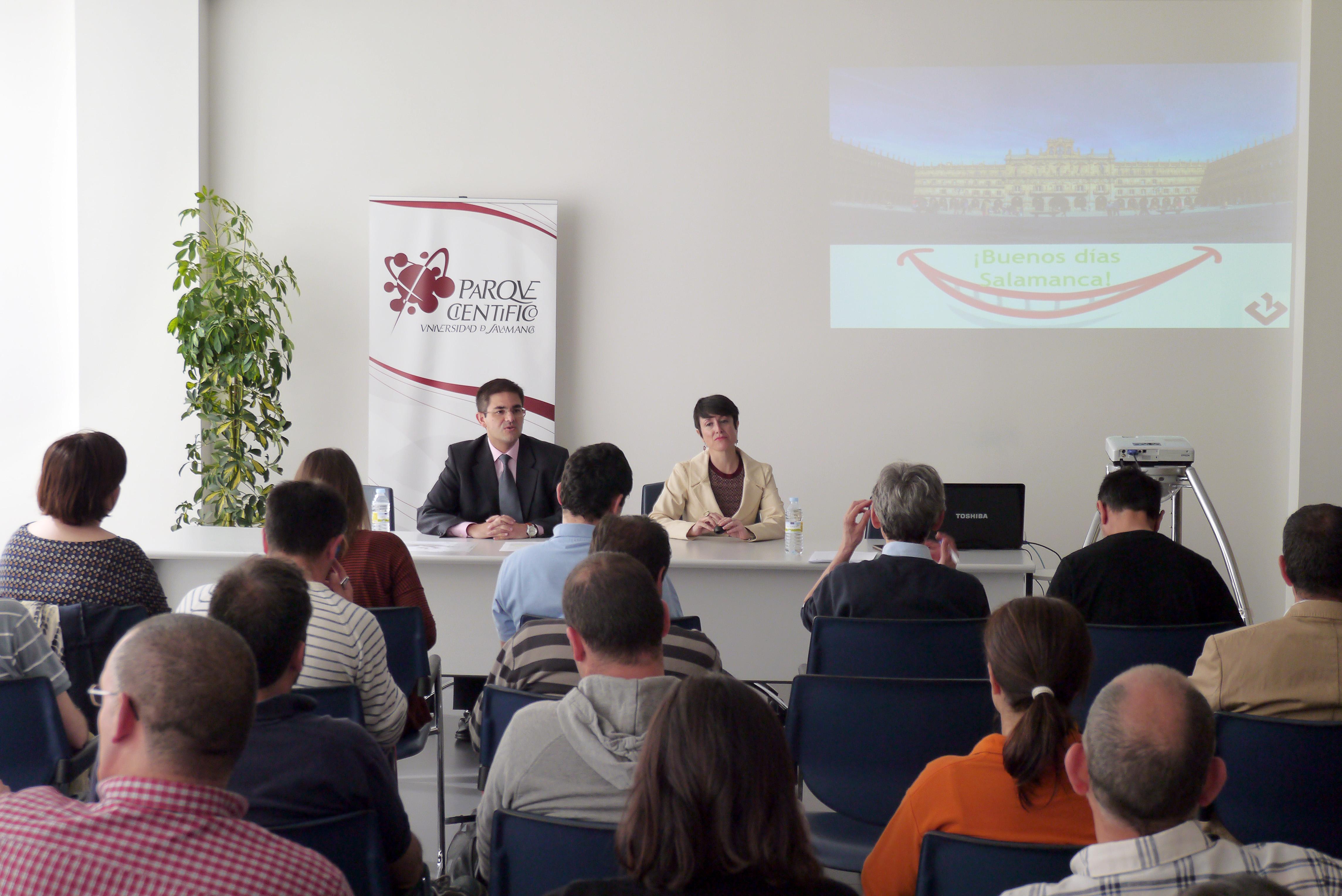 El Parque Científico de la Universidad de Salamanca desarrolla una jornada sobre liderazgo y seguridad en salud