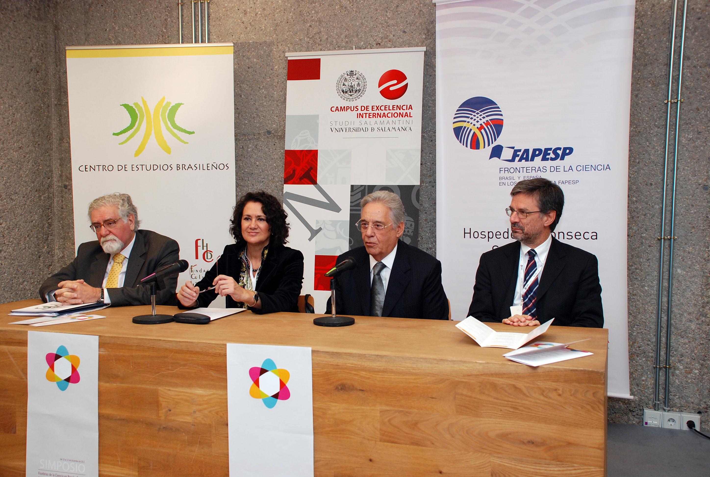 La Universidad de Salamanca y la Fundación de Apoyo a la Investigación Científica del Estado de São Paulo inauguran el Simposio 'Fronteras de la Ciencia en Brasil y España'