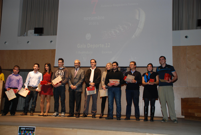 Ceremonia de entrega de los XXIII Premios Anuales del Deporte Universitario