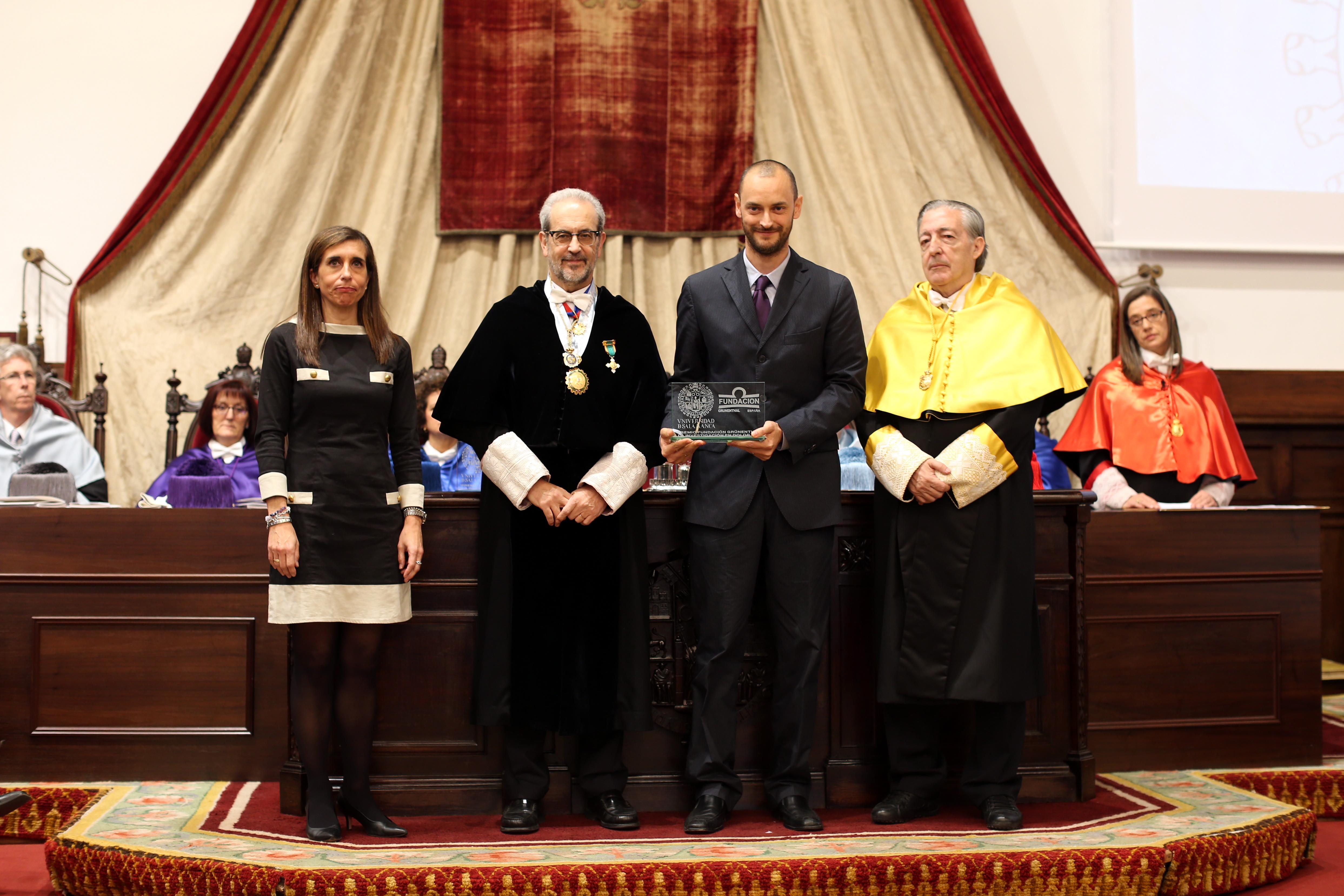 Dos estudios sobre la prevención y el abordaje del dolor crónico, reconocidos con el Premio a la Investigación en Dolor 2015 de la Fundación Grünenthal