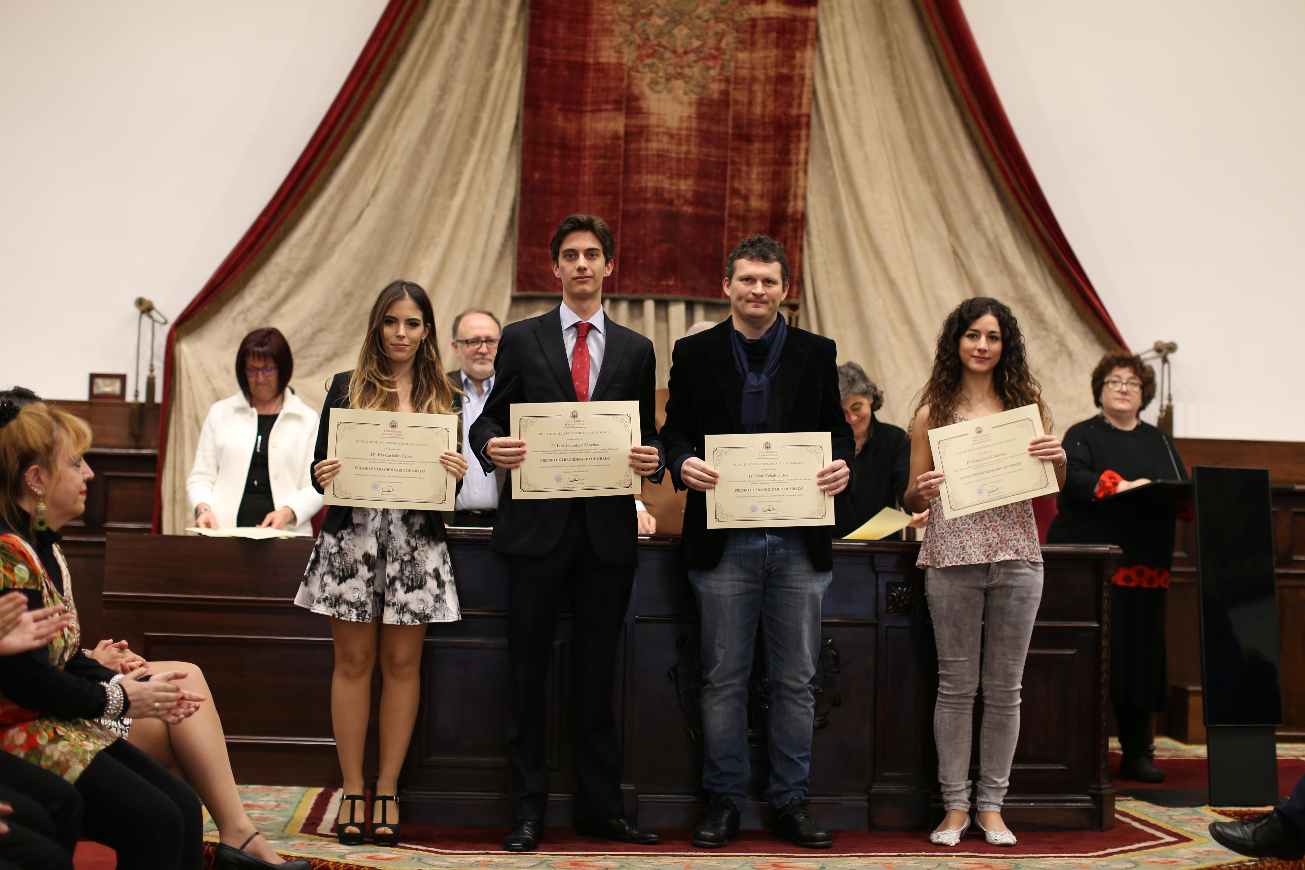 Fotografía de Premio Extraordinario de Grado y de Grado de Salamanca 3