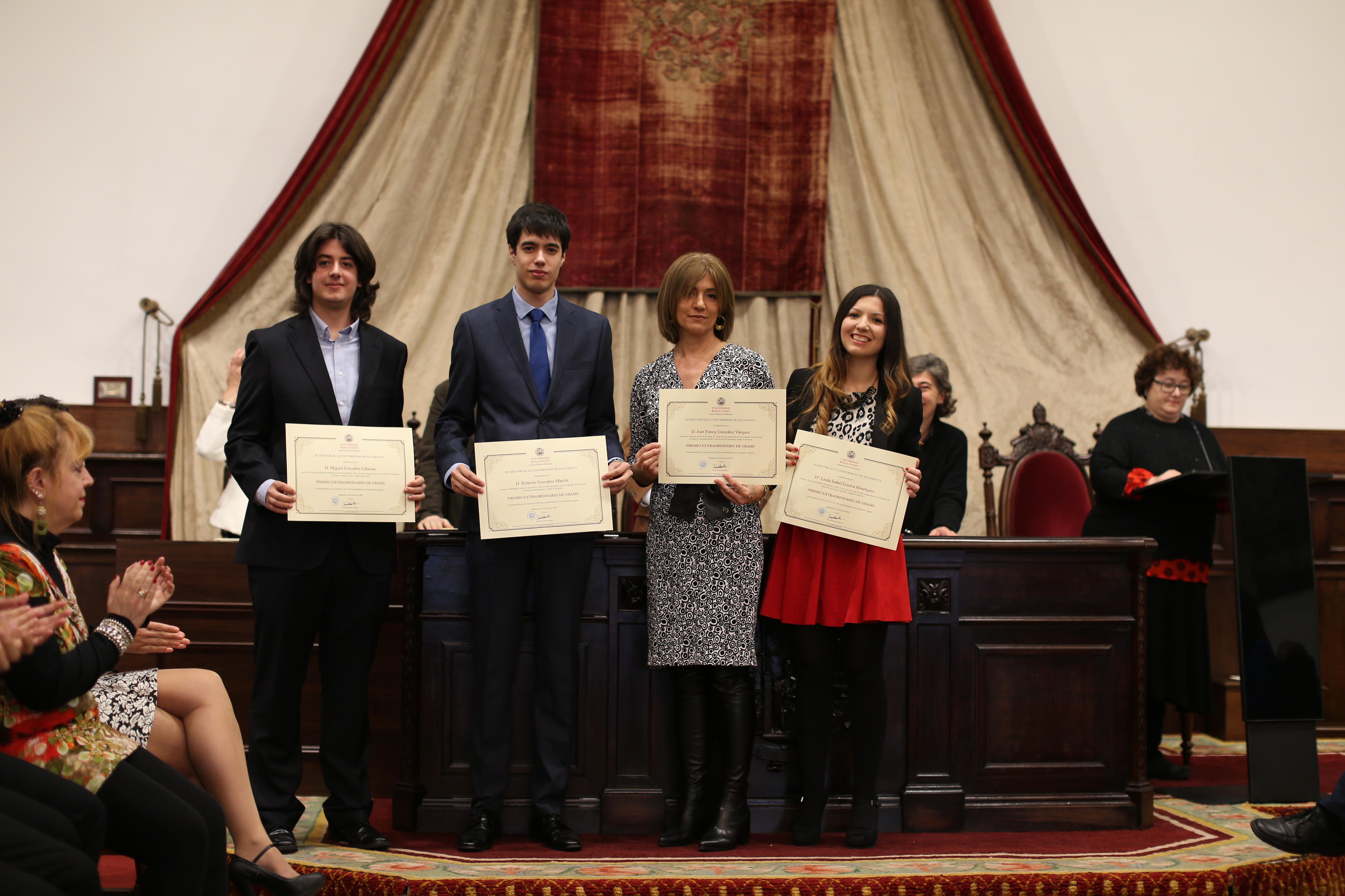 Fotografía de Premio Extraordinario de Grado y de Grado de Salamanca 6