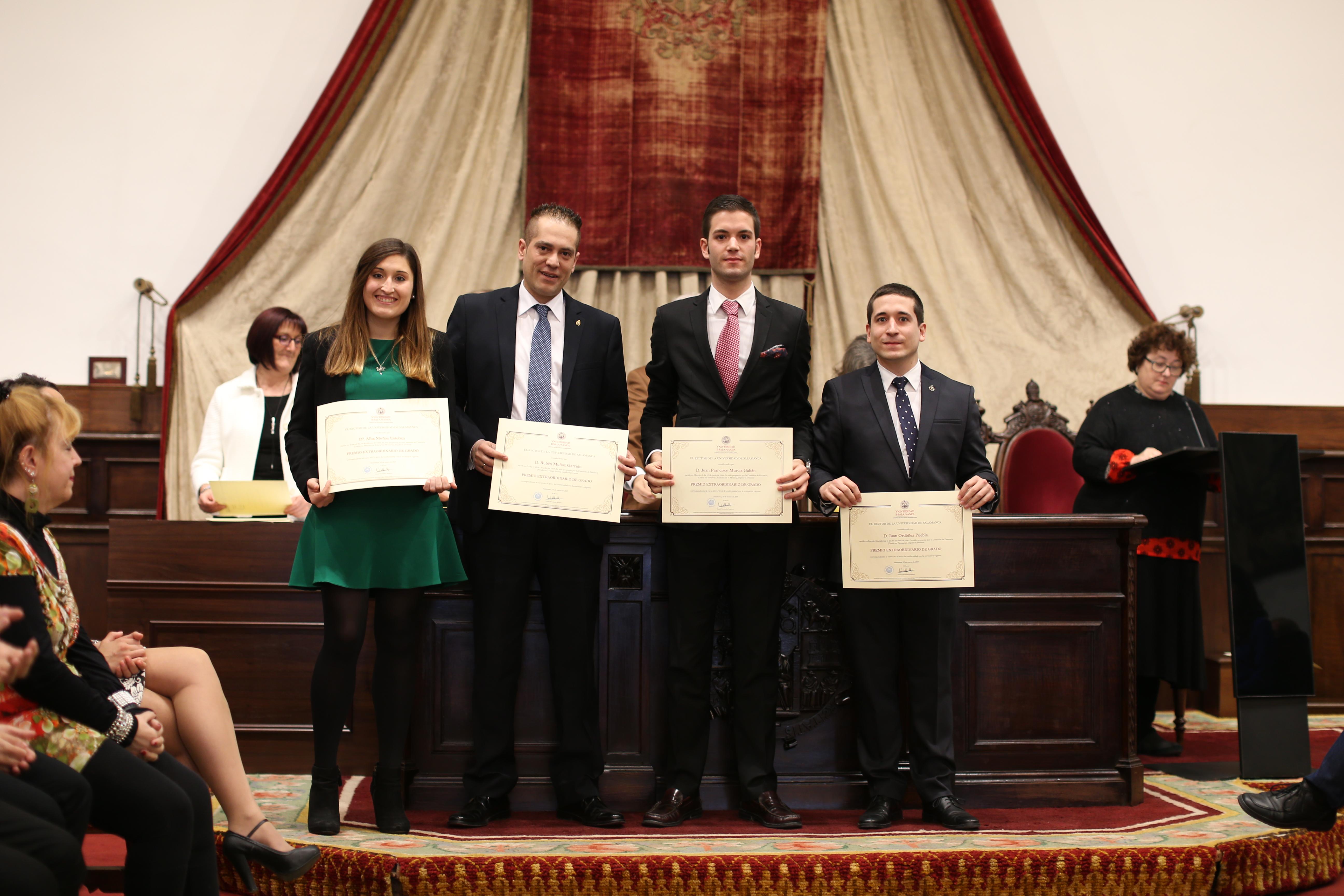 Fotografía de Premio Extraordinario de Grado y de Grado de Salamanca 10