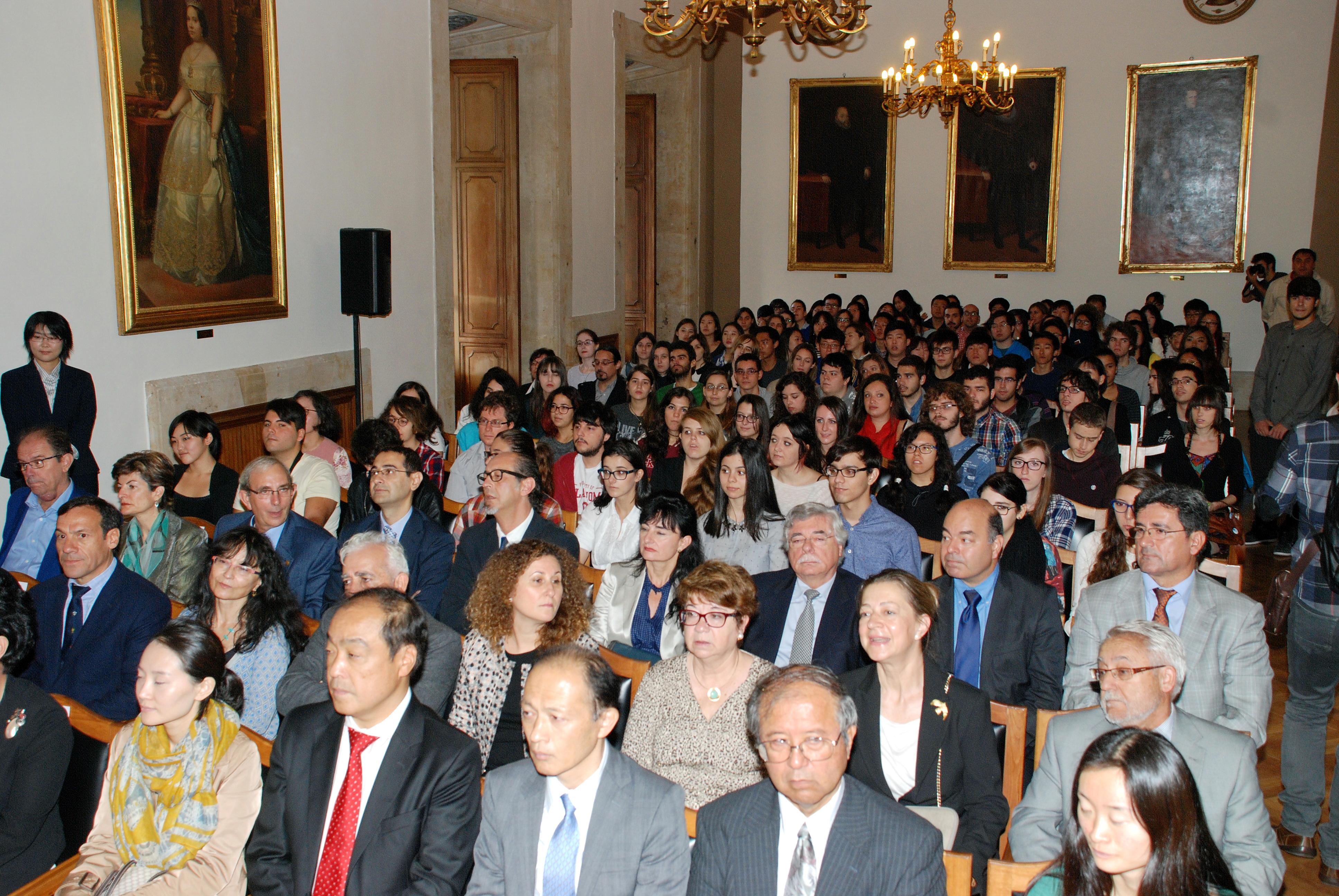 La Universidad de Salamanca pone en marcha el Grado en Estudios de Asia Oriental con el respaldo de los gobiernos de Japón, Corea y China