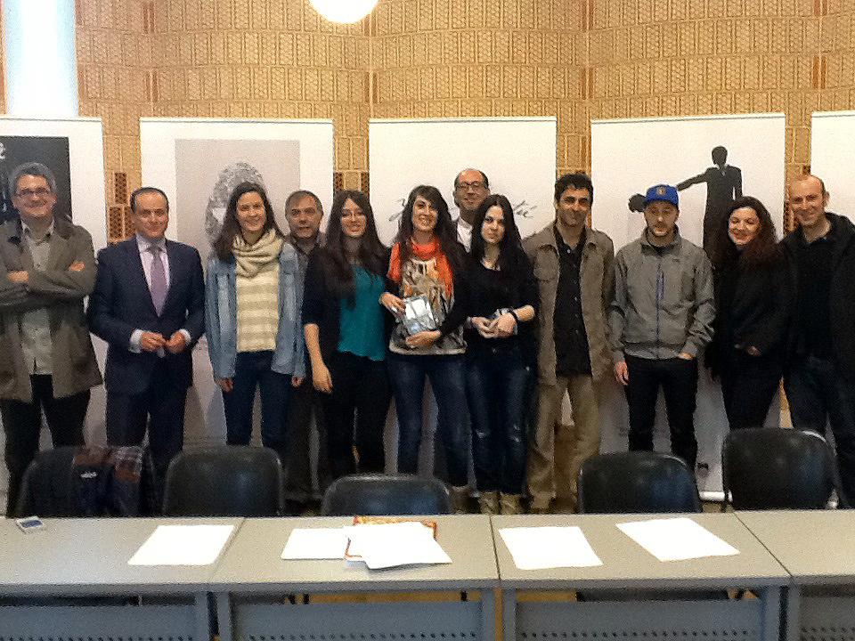 El Servicio de Actividades Culturales entrega los premios de Ilustración V Concurso universitario de creación de  microrrelatos