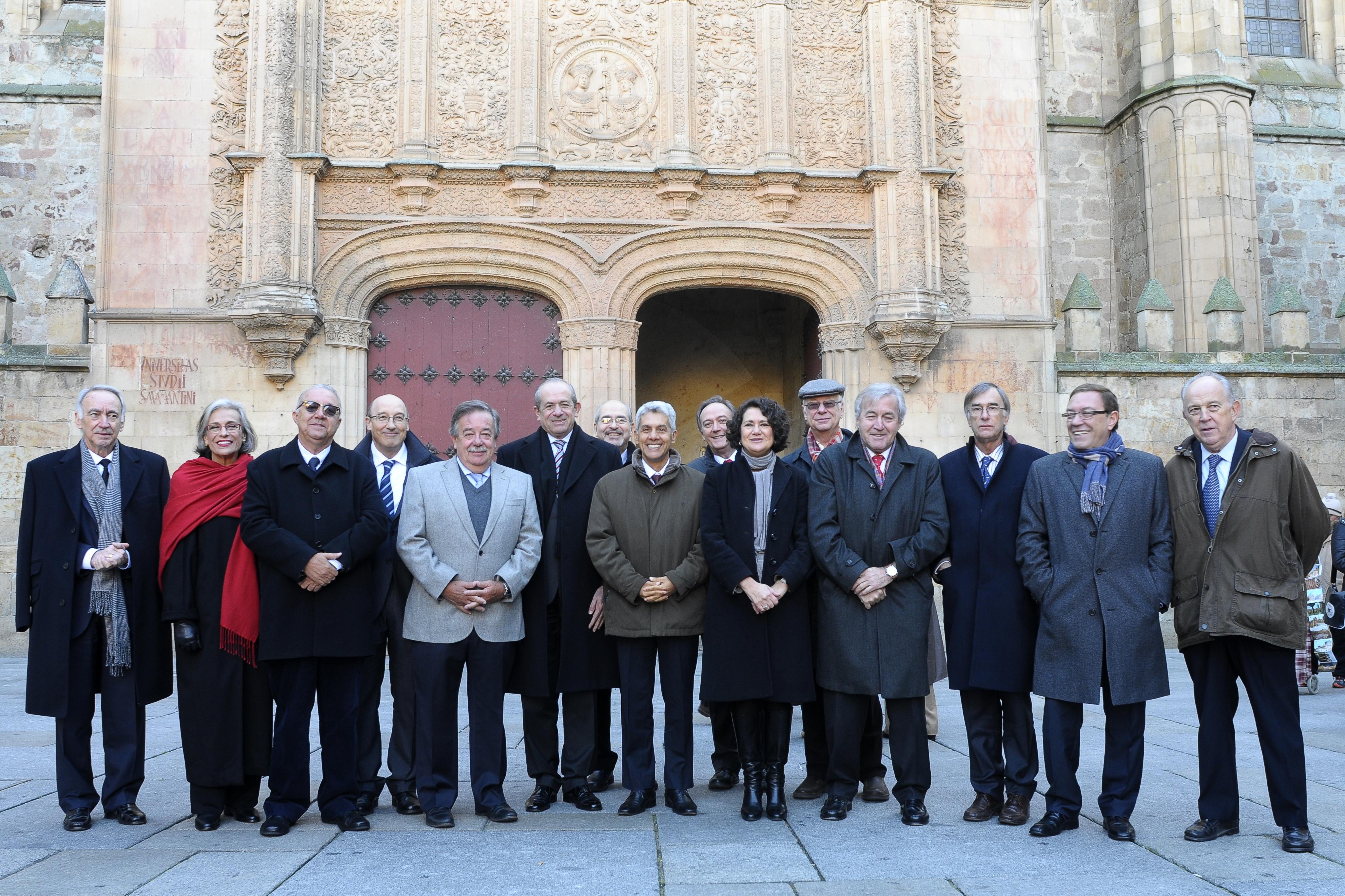 El Centro de Estudios Brasileños acoge la reunión del Comité Académico del III Encuentro Internacional de Rectores Universia