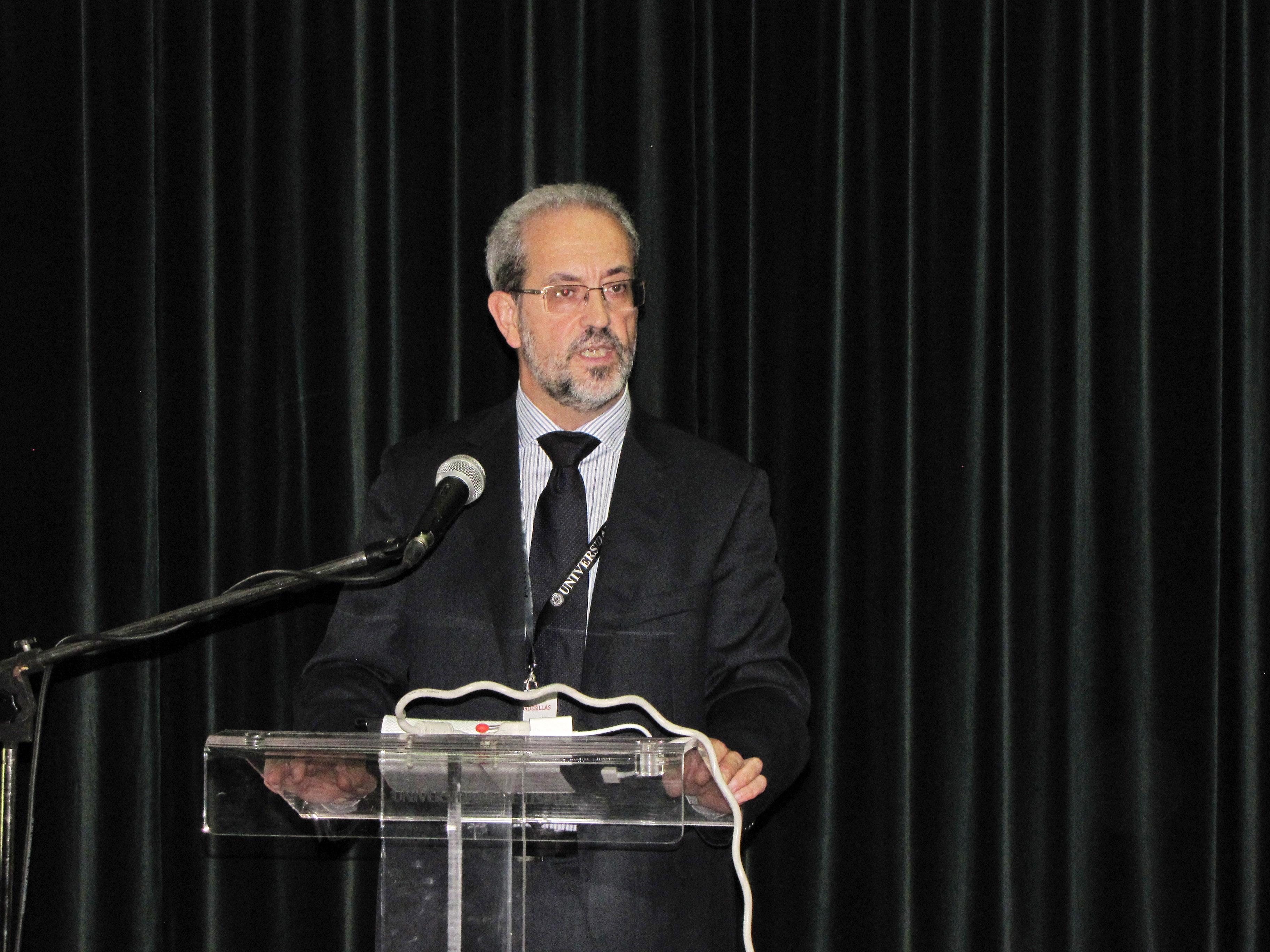 El rector participa en el XII Encuentro de Rectores del Grupo Tordesillas en la Universidad de Lisboa