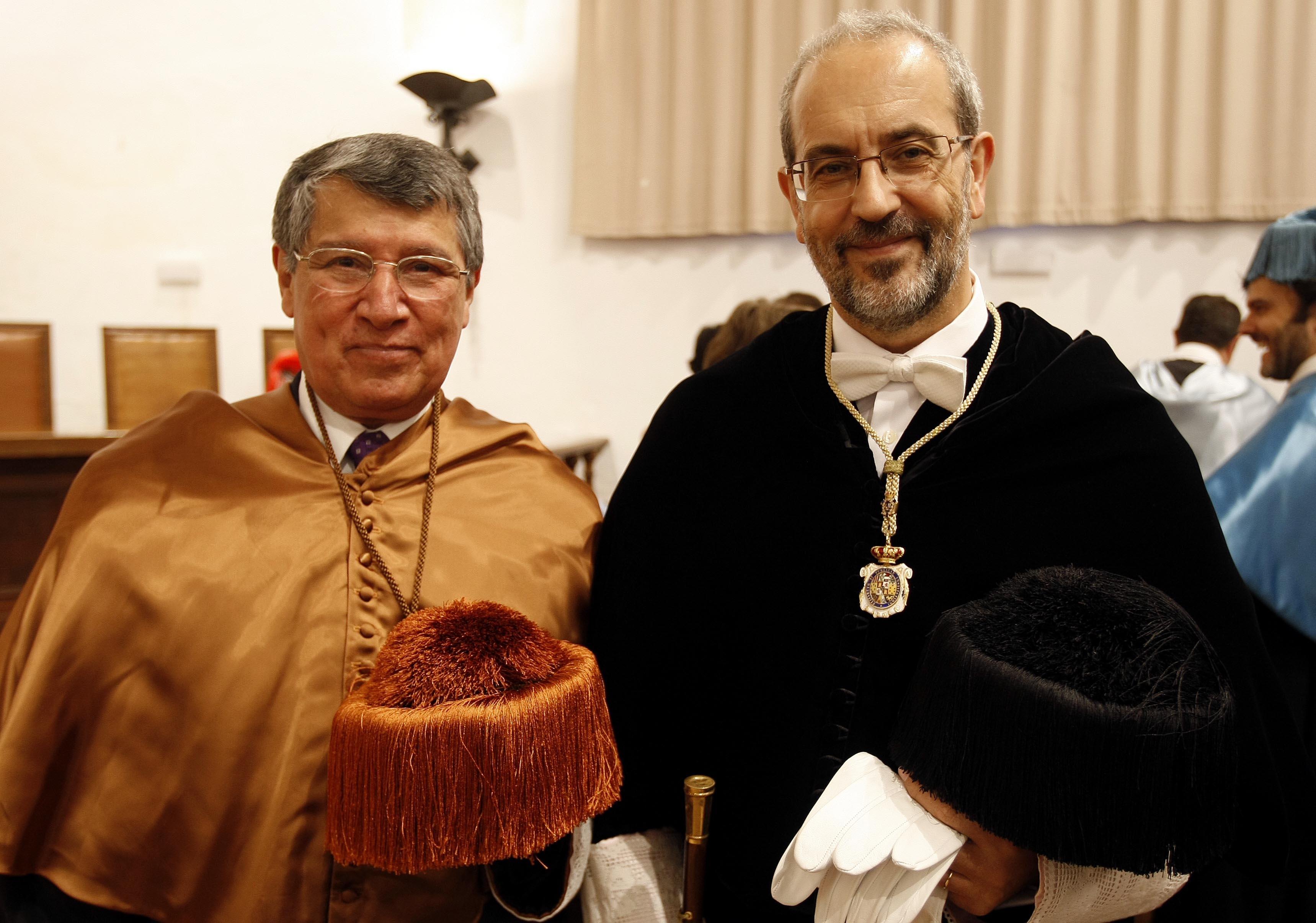 Visita del rector de la Universidad del Valle