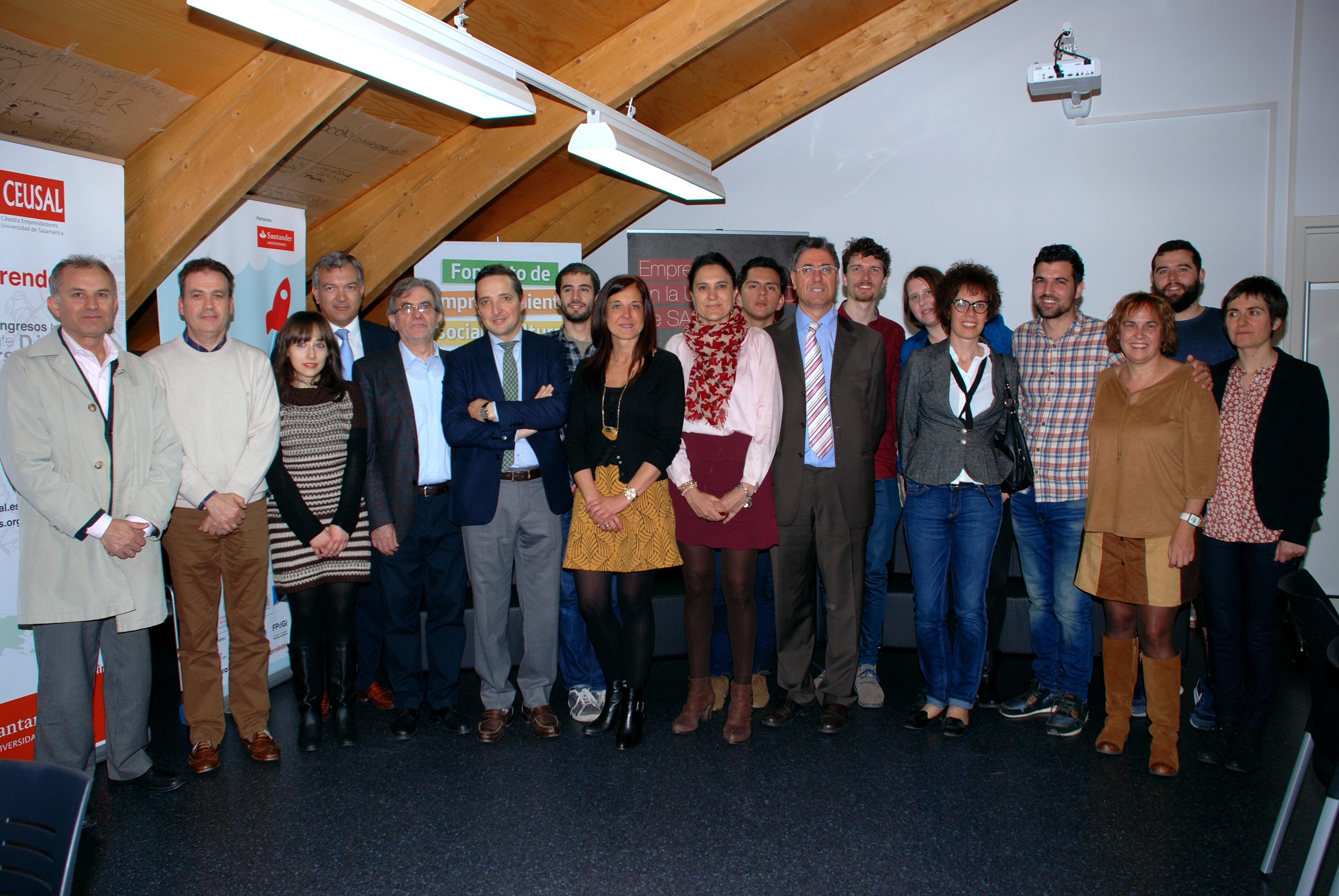 Los estudiantes de la Universidad de Salamanca disponen de un nuevo espacio para el emprendimiento