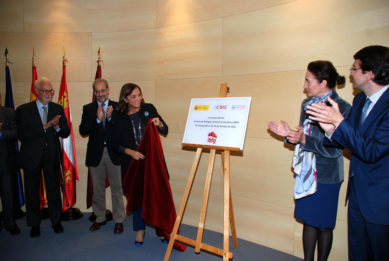 EL CSIC y la Universidad de Salamanca inauguran el Instituto de Biología Funcional y Genómica en Salamanca