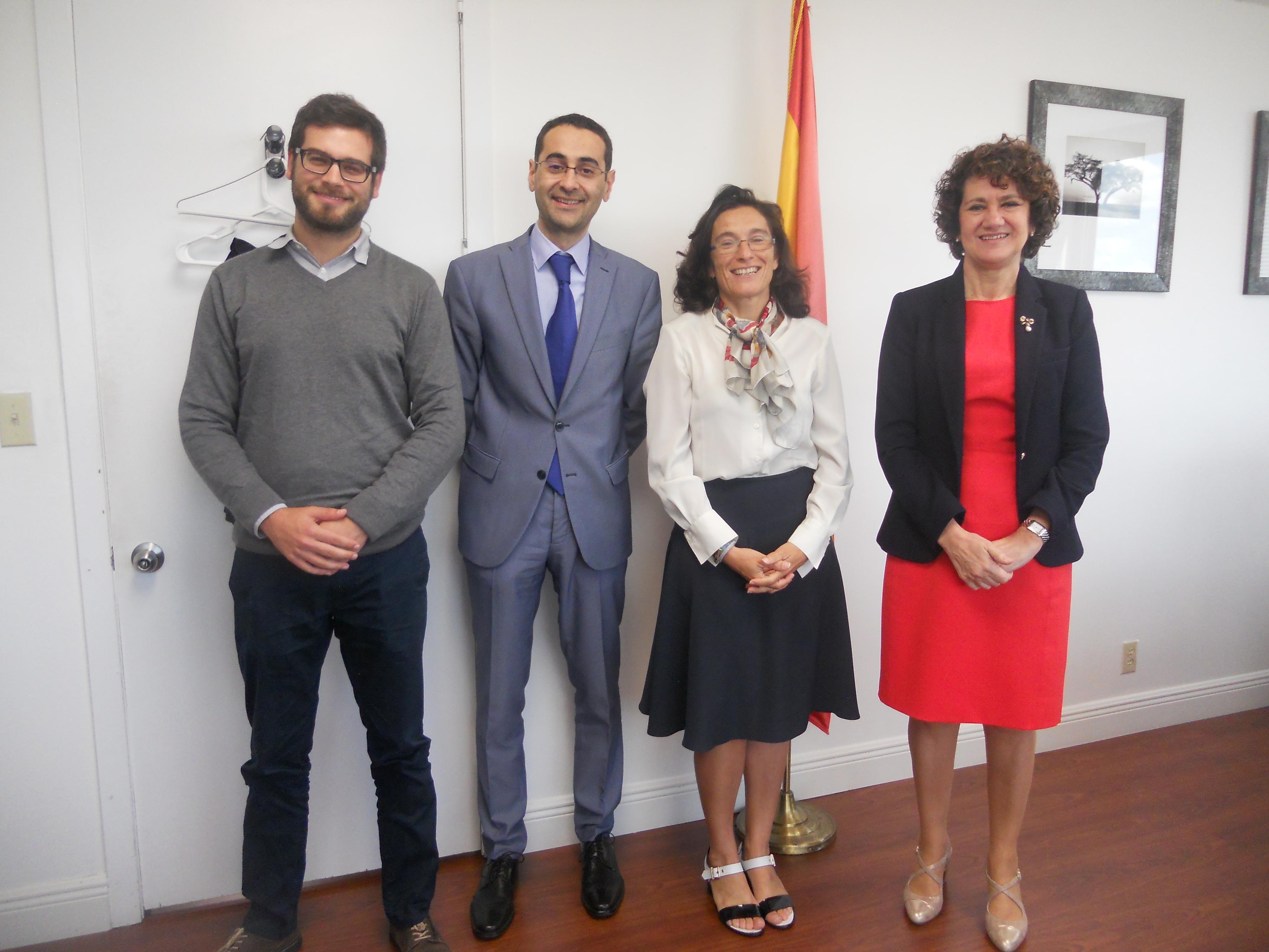La Universidad de Salamanca aborda su expansión en Estados Unidos en el ámbito de la enseñanza del español