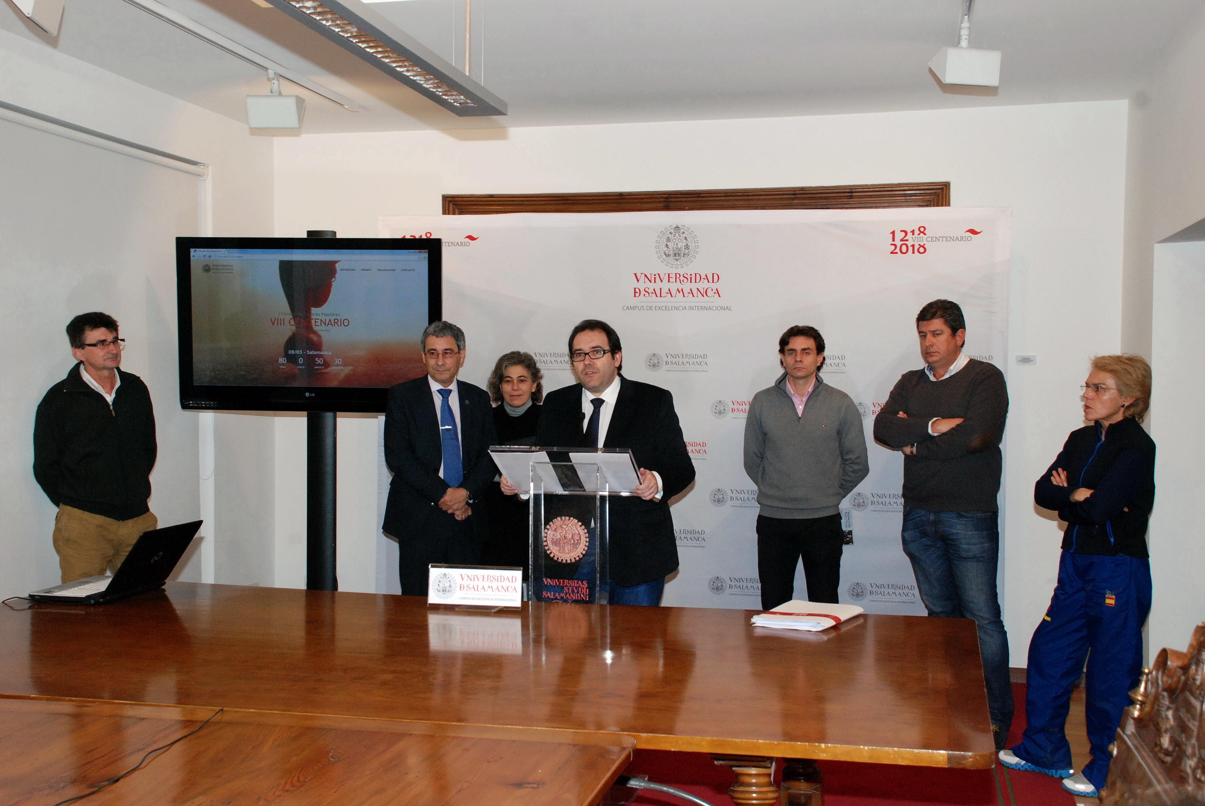 La Universidad de Salamanca promueve el deporte en la celebración de su VIII Centenario con un circuito de carreras populares