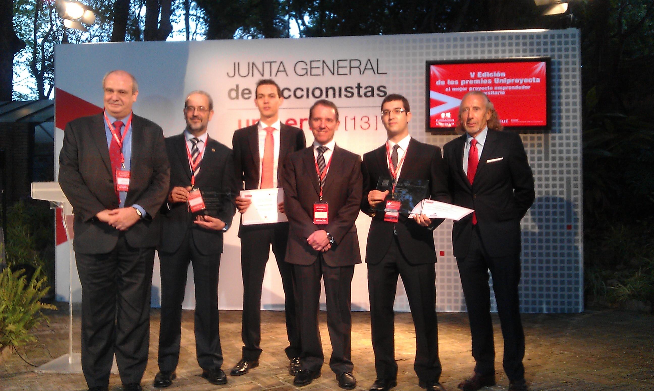 El proyecto emprendedor de un alumno de la Universidad de Salamanca, vencedor del V Premio Uniproyecta