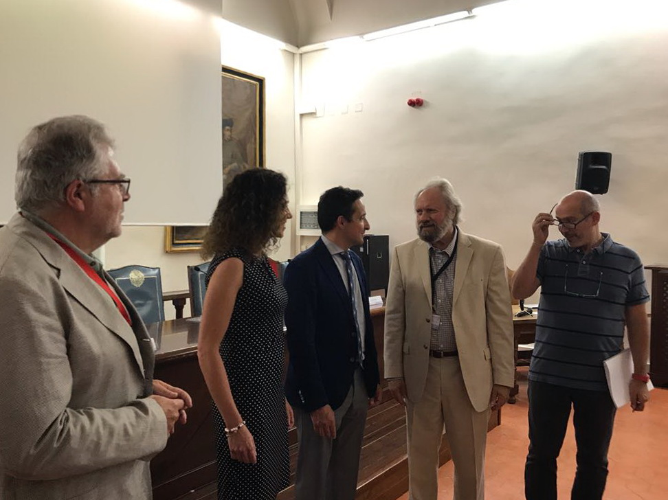 El vicerrector de Investigación y Transferencia asiste a la inauguración del congreso internacional TARG-3, centrado en la experimentación con partículas por láser