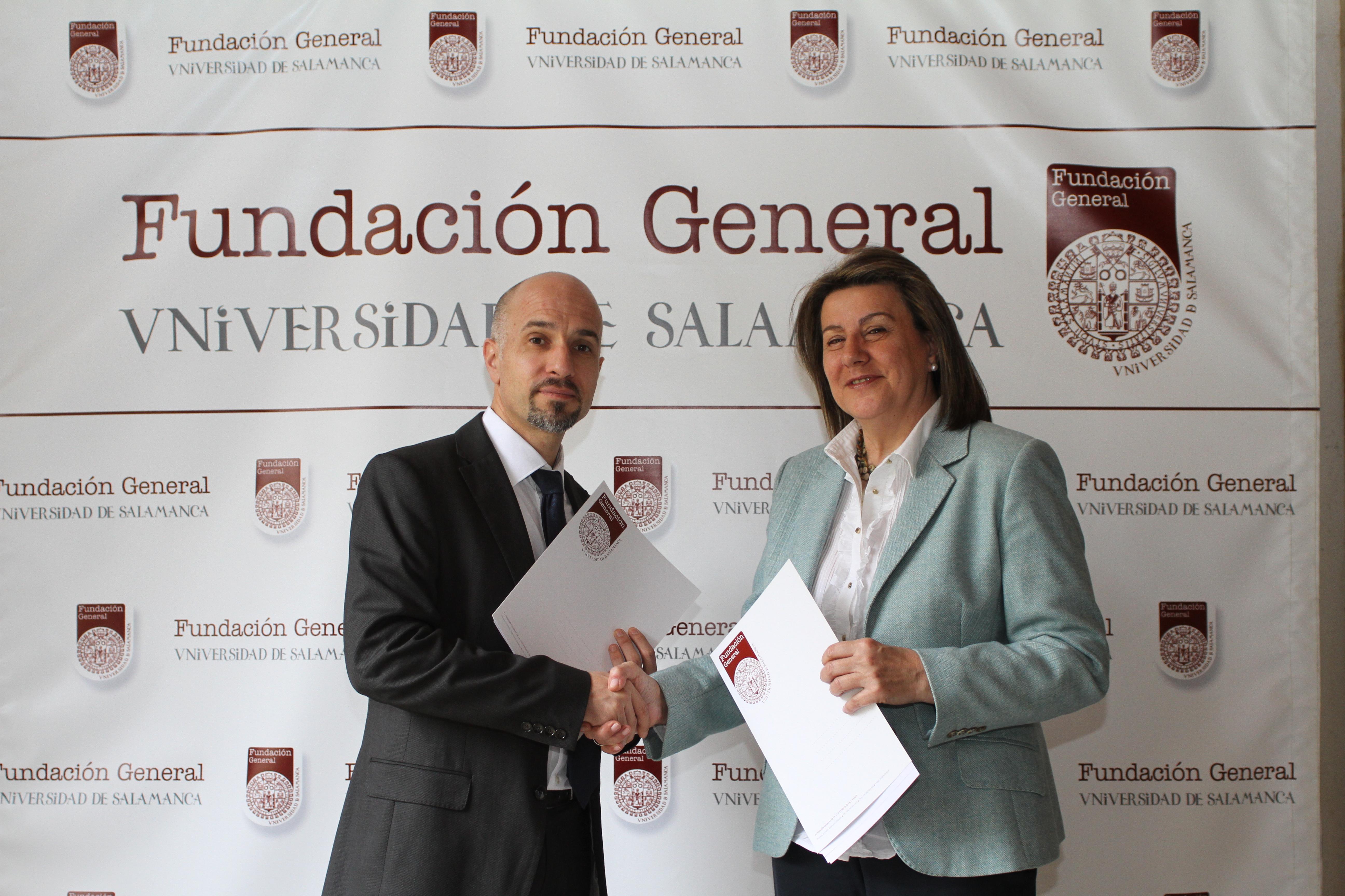 La Fundación General de la Universidad de Salamanca firma un convenio de colaboración con la Fundación AVIVA