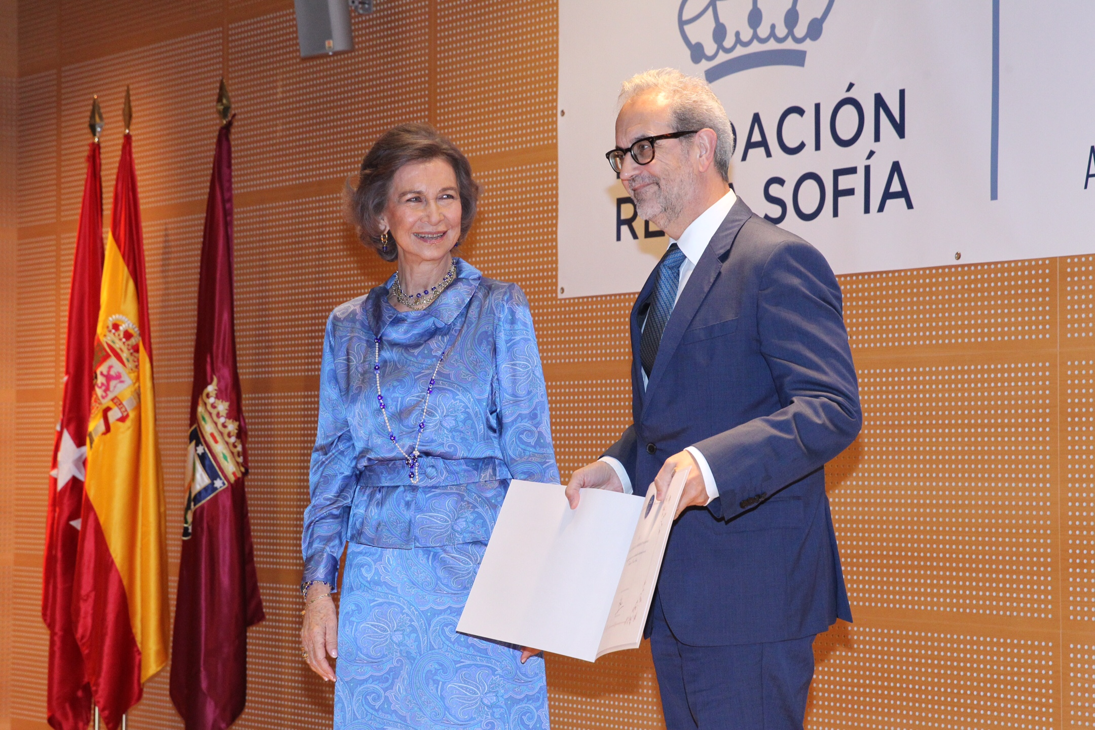 La Fundación Reina Sofía reconoce en su 40 aniversario el apoyo recibido desde la Fundación General de la Universidad de Salamanca