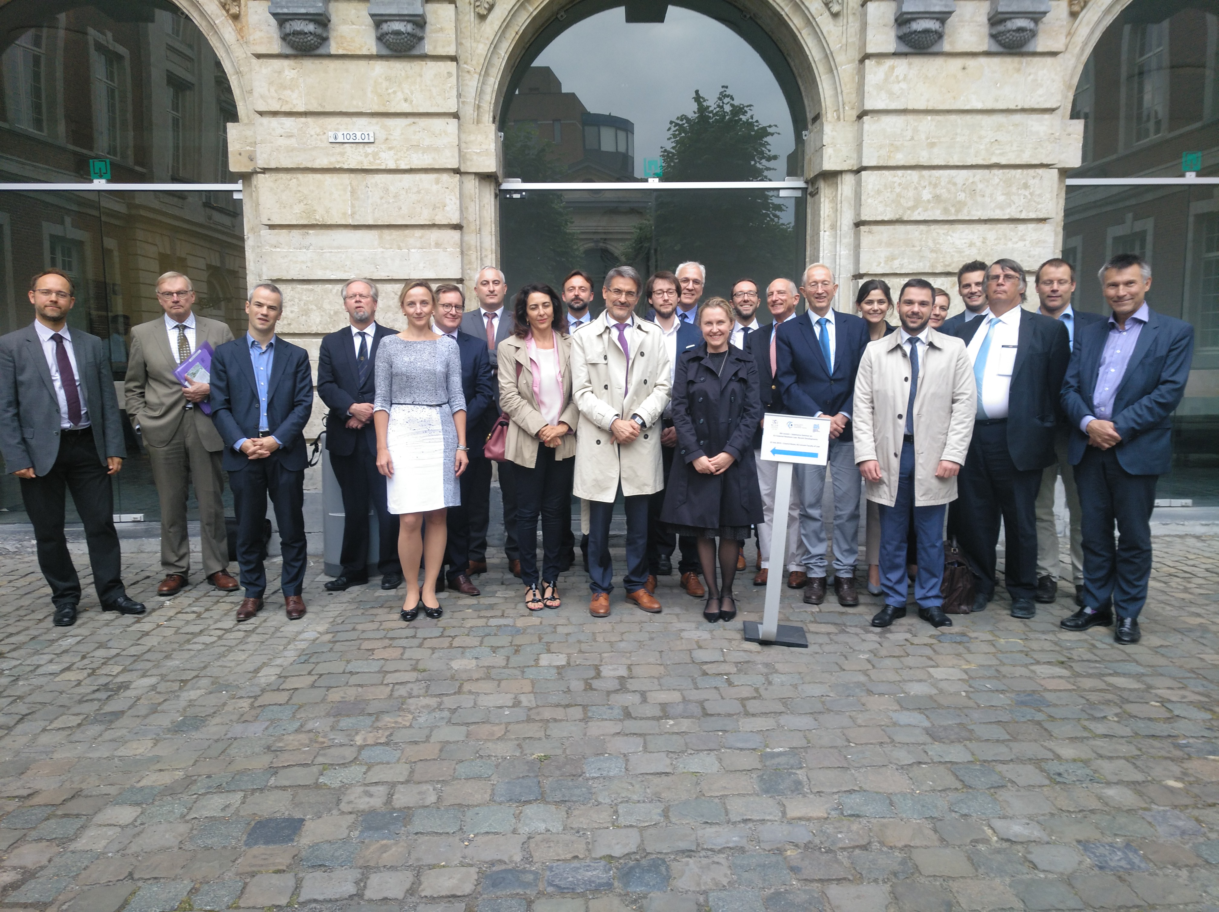 Las universidades de Salamanca y Lovaina (Bélgica) analizan en un seminario las relaciones exteriores de la Unión Europea