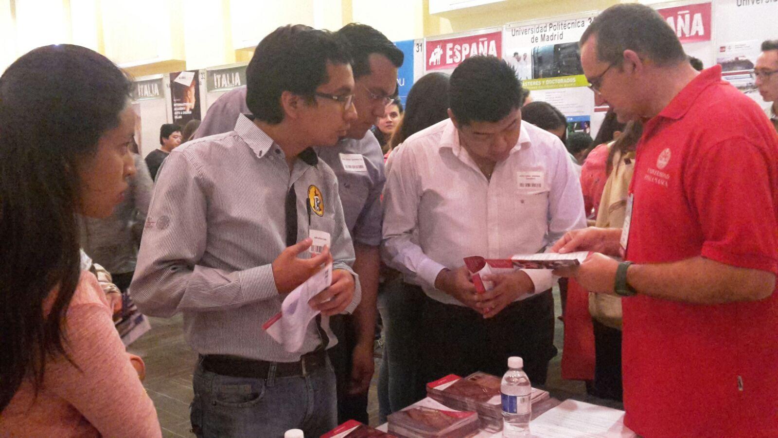 La Universidad de Salamanca participa en la Feria Europosgrados de México