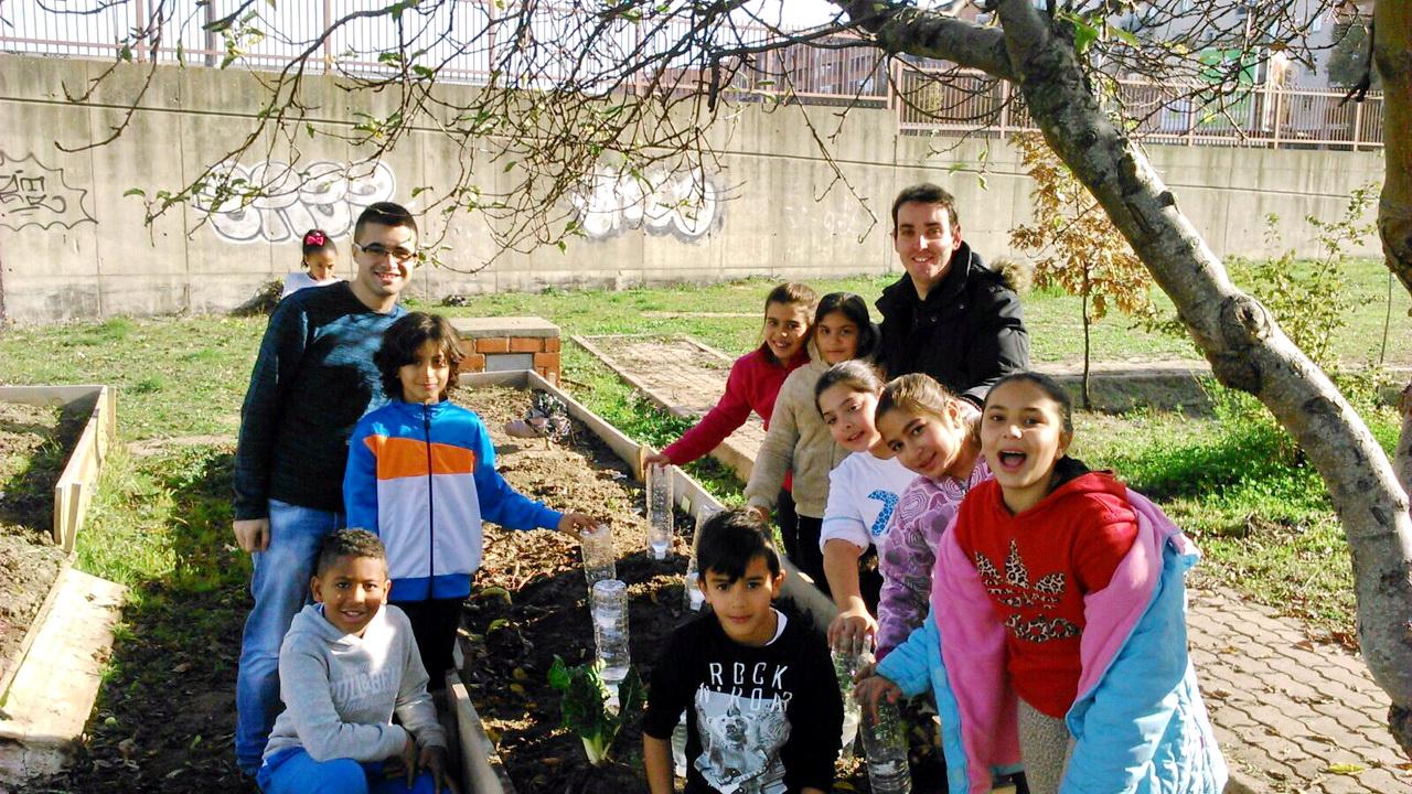 La Red de Huertos Escolares, apoyada por la Universidad de Salamanca, continúa su actividad con éxito
