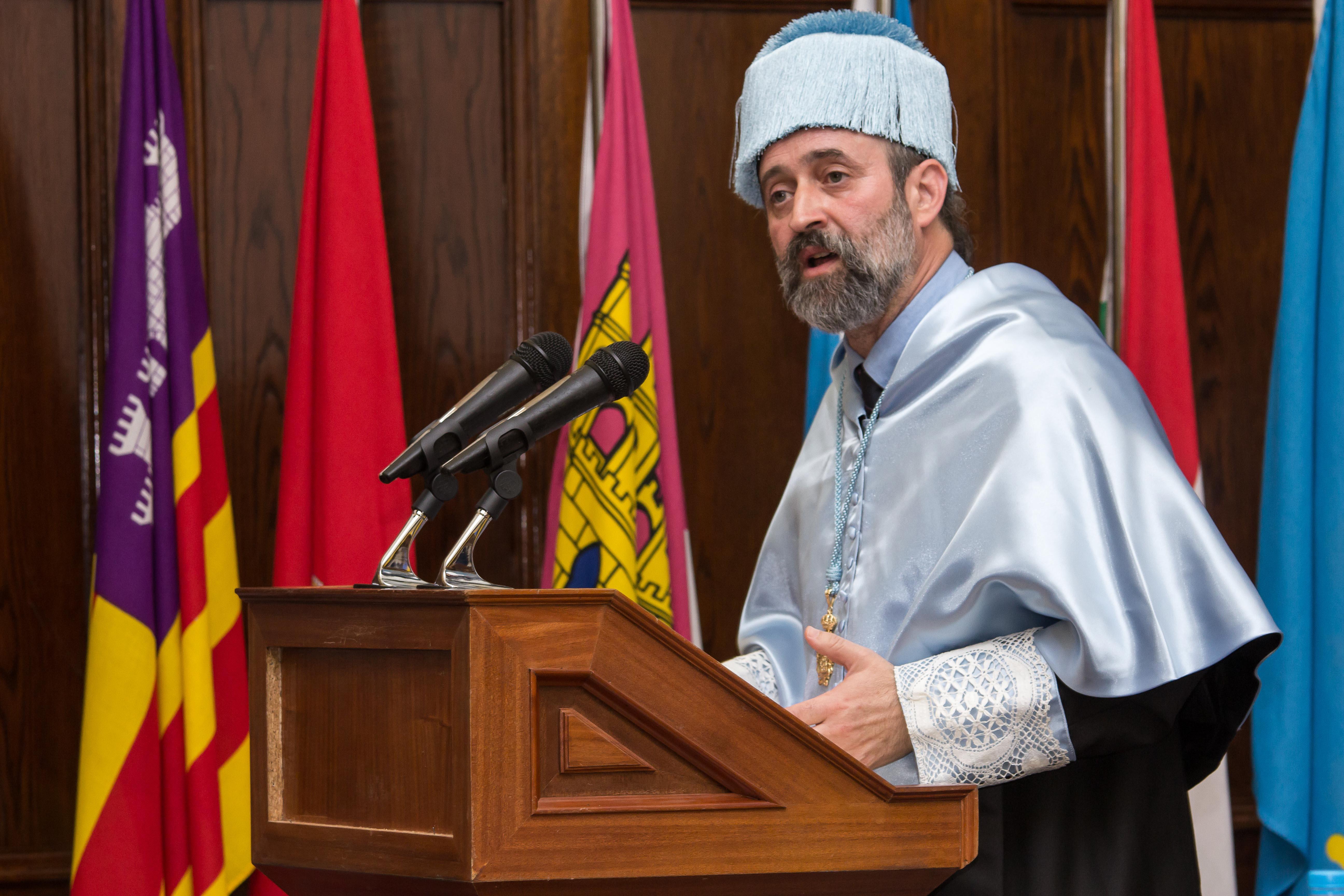 Antonio Notario toma posesión como miembro de número de la Real Academia de Doctores de España