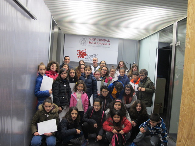 El Parque Científico de la USAL organiza un taller para fomentar el interés por la investigación entre los niños