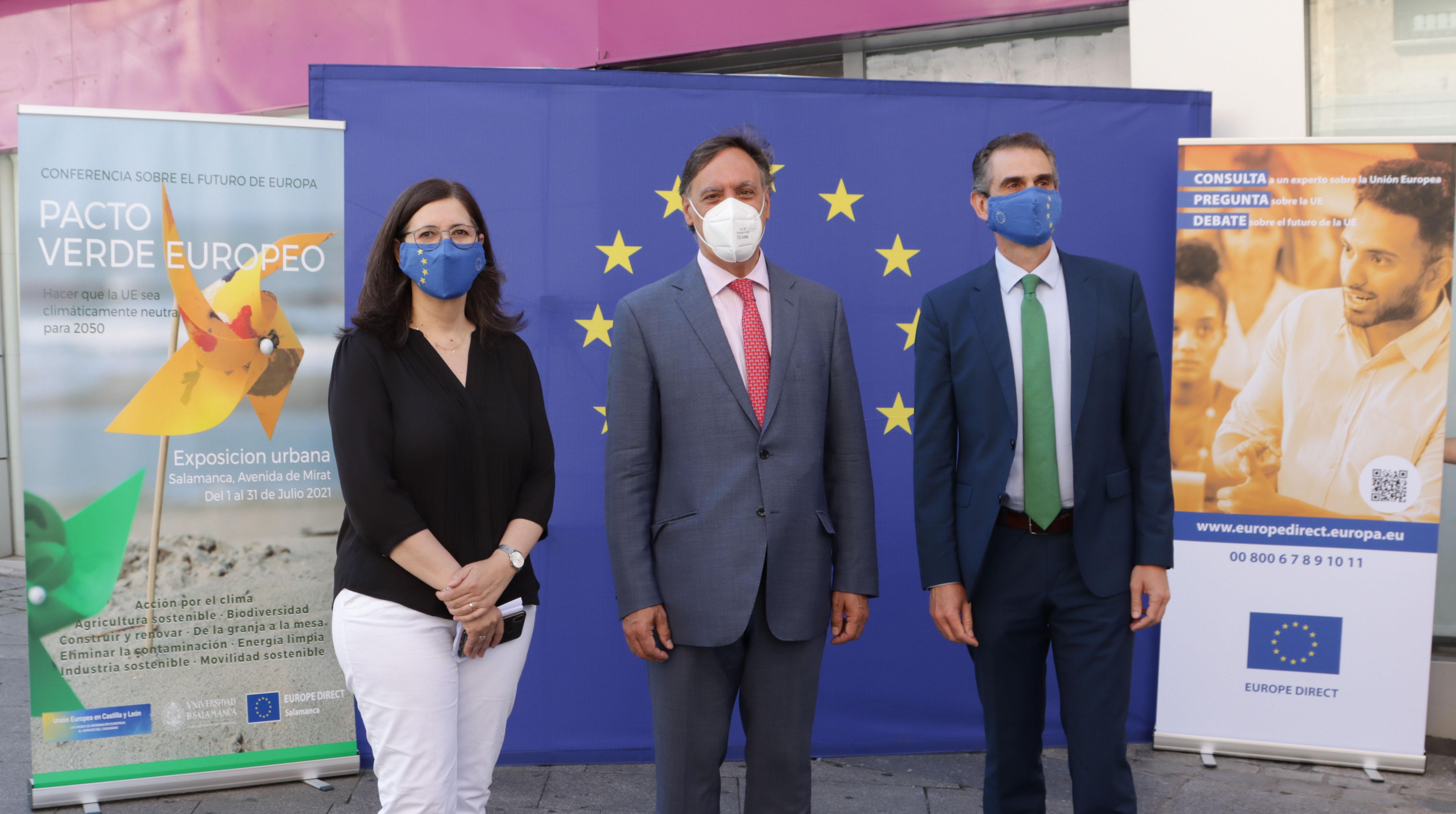El Centro Europe Direct de la USAL promueve una exposición para concienciar a los ciudadanos sobre el pacto verde europeo
