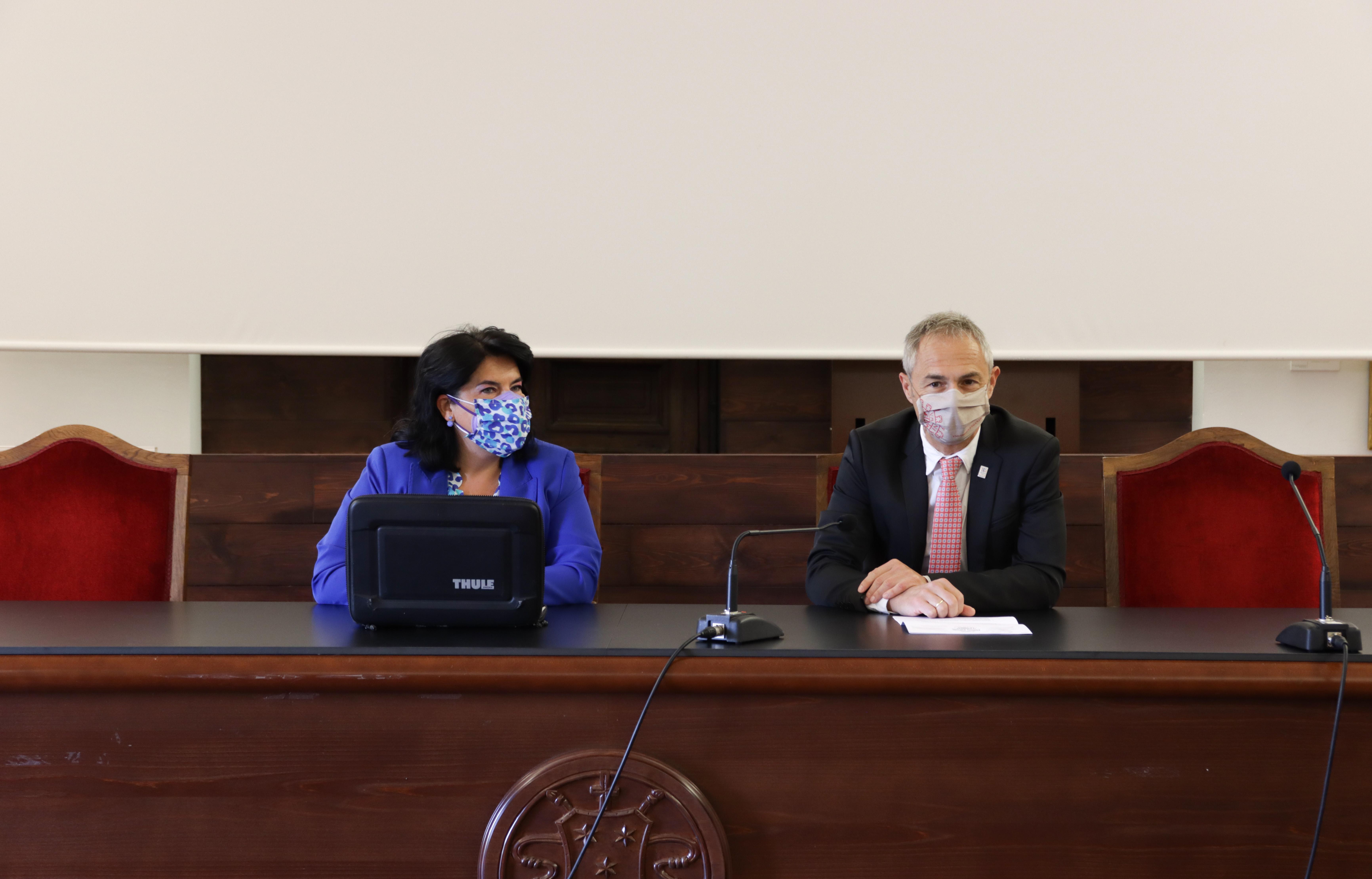 El rector inaugura el IV Congreso Internacional 'Políticas Públicas en Defensa de la Inclusión, la Diversidad y el Género'