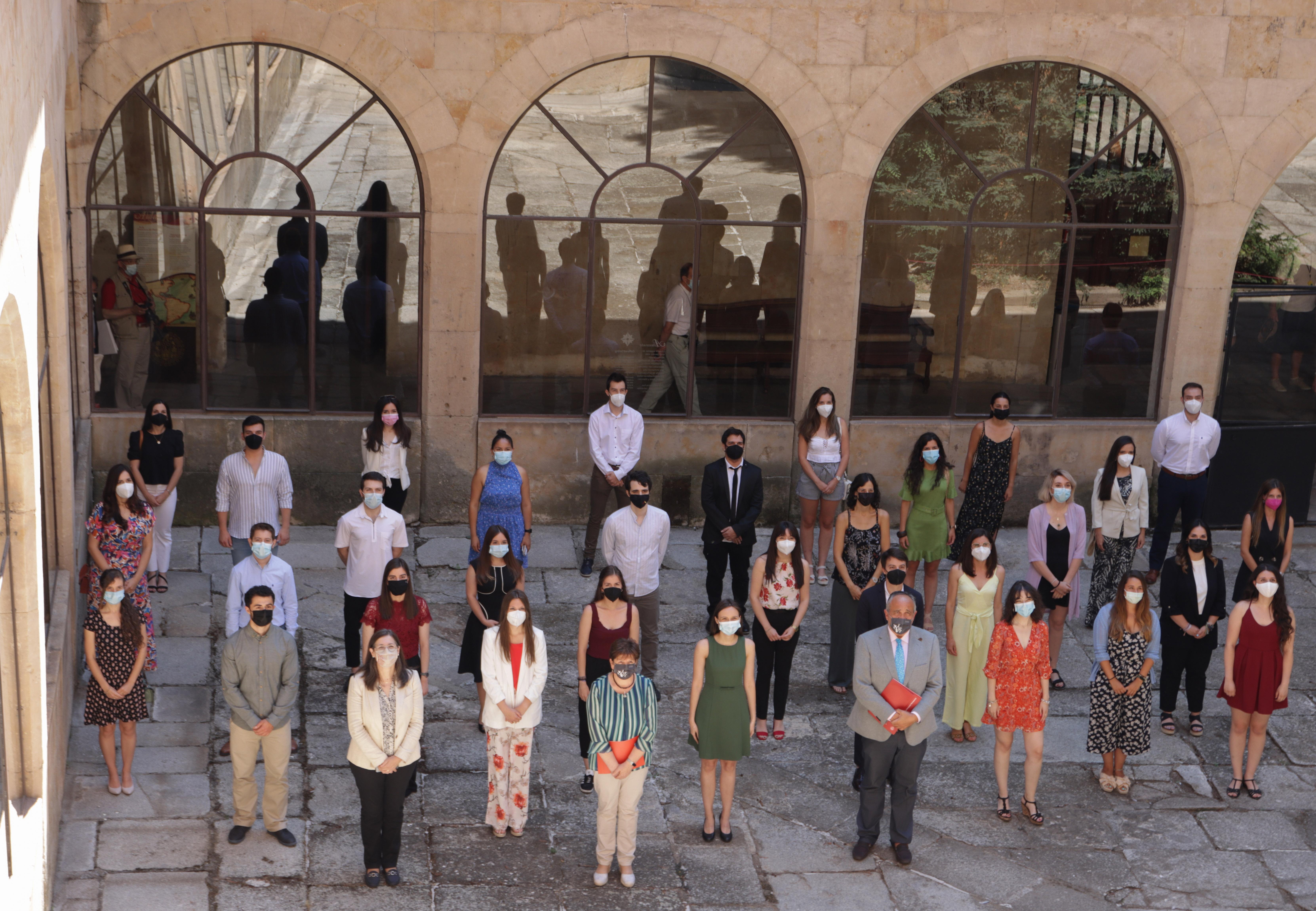 La Universidad de Salamanca premia a los 94 mejores estudiantes de másteres del curso 2019/20