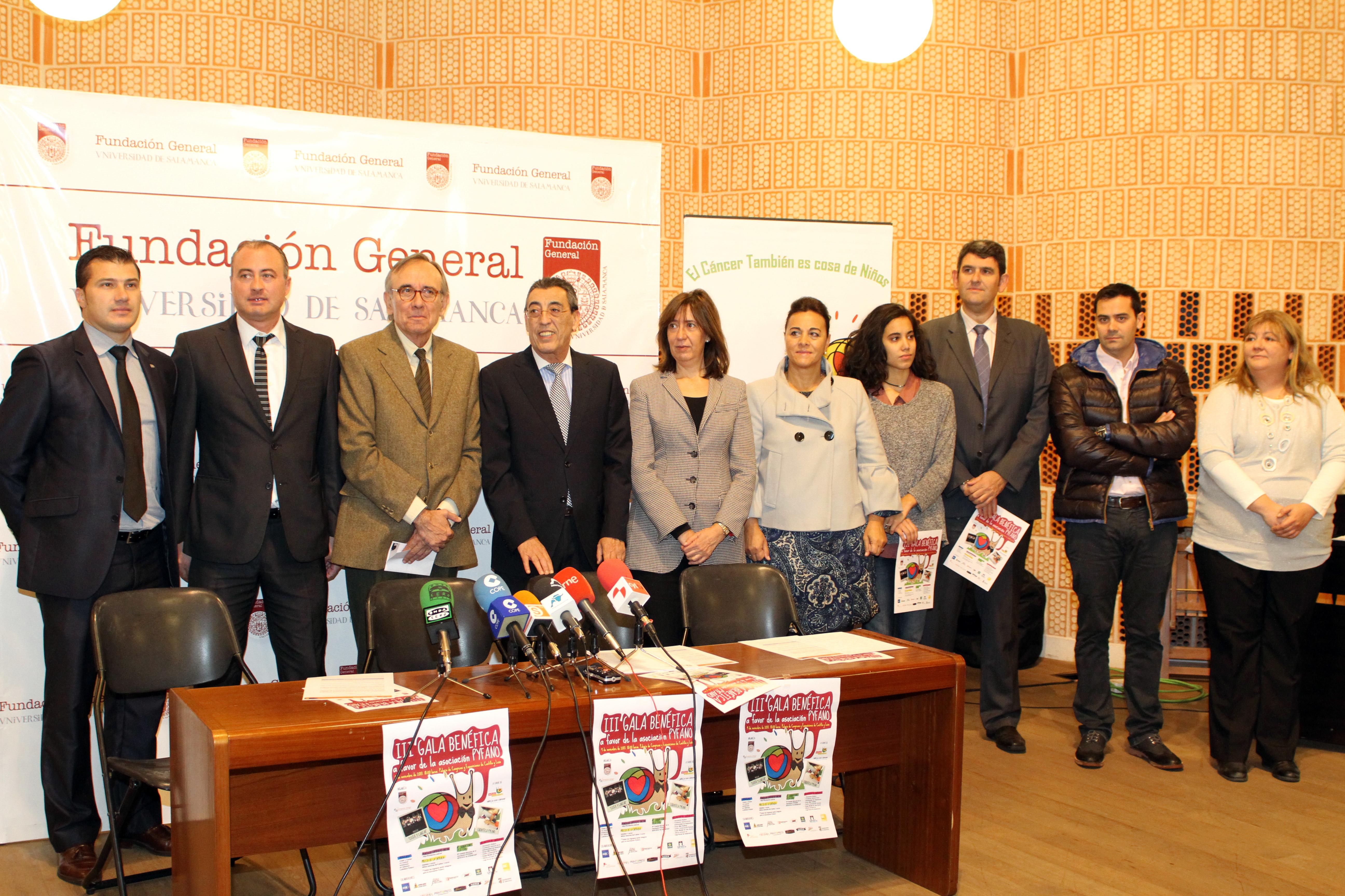 La Fundación General de la Universidad de Salamanca colabora en la III Gala Benéfica a favor de la Asociación PYFANO