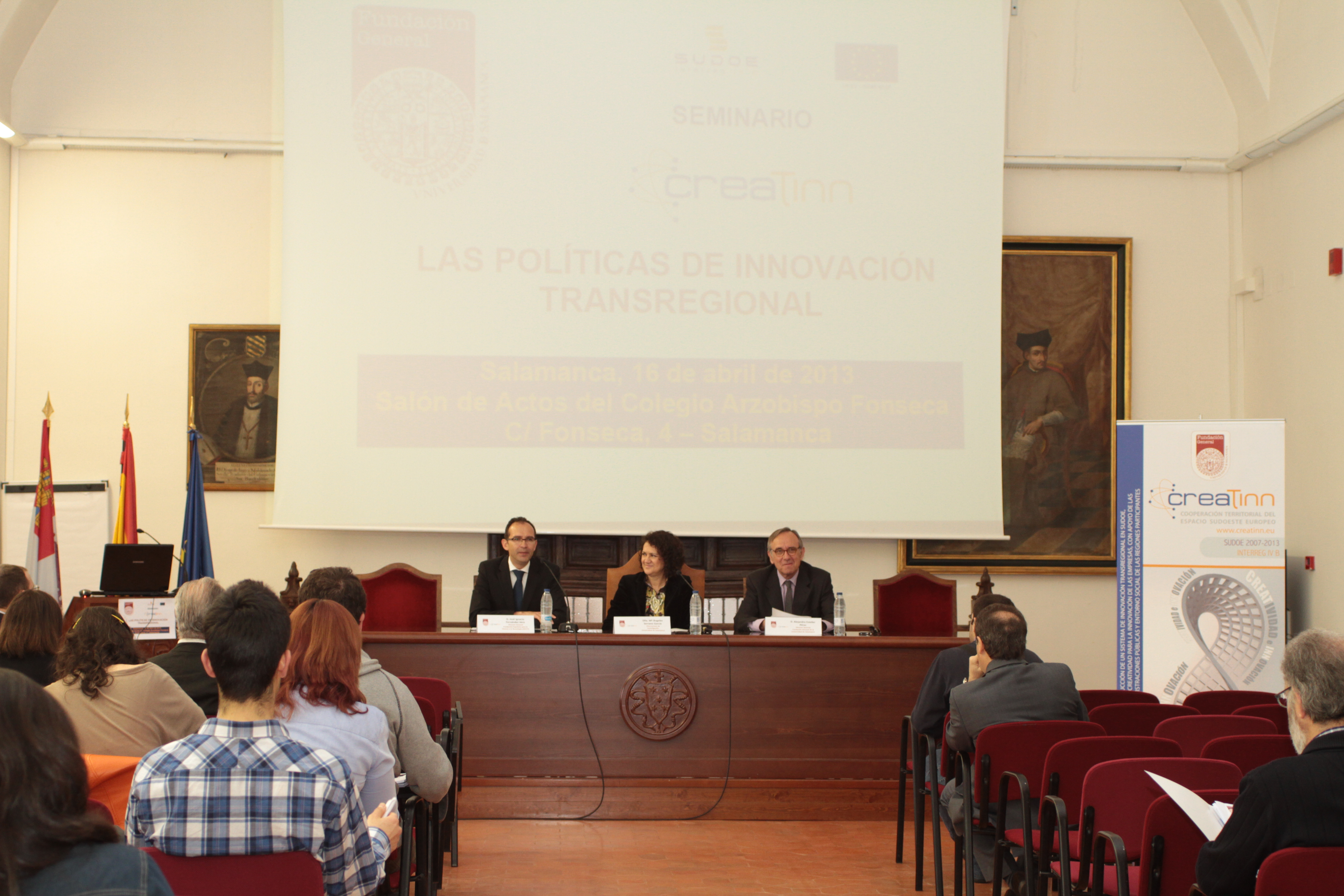 La Fundación General de la Universidad de Salamanca organiza la séptima reunión de coordinación del proyecto CREATINN