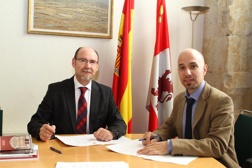 Firma de convenio de colaboración, Eurobroker Prado