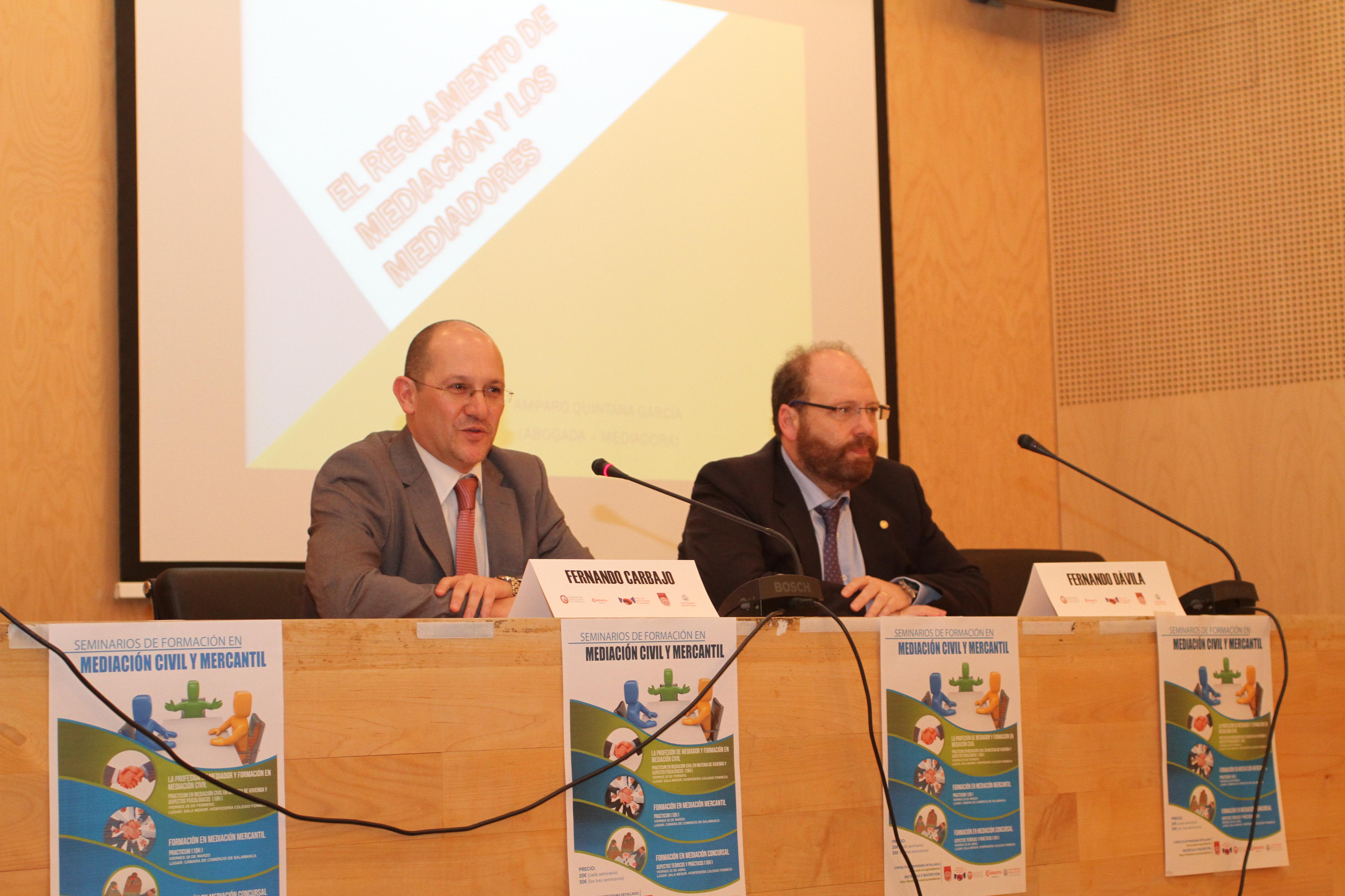 La Fundación General aborda la figura del mediador civil y mercantil