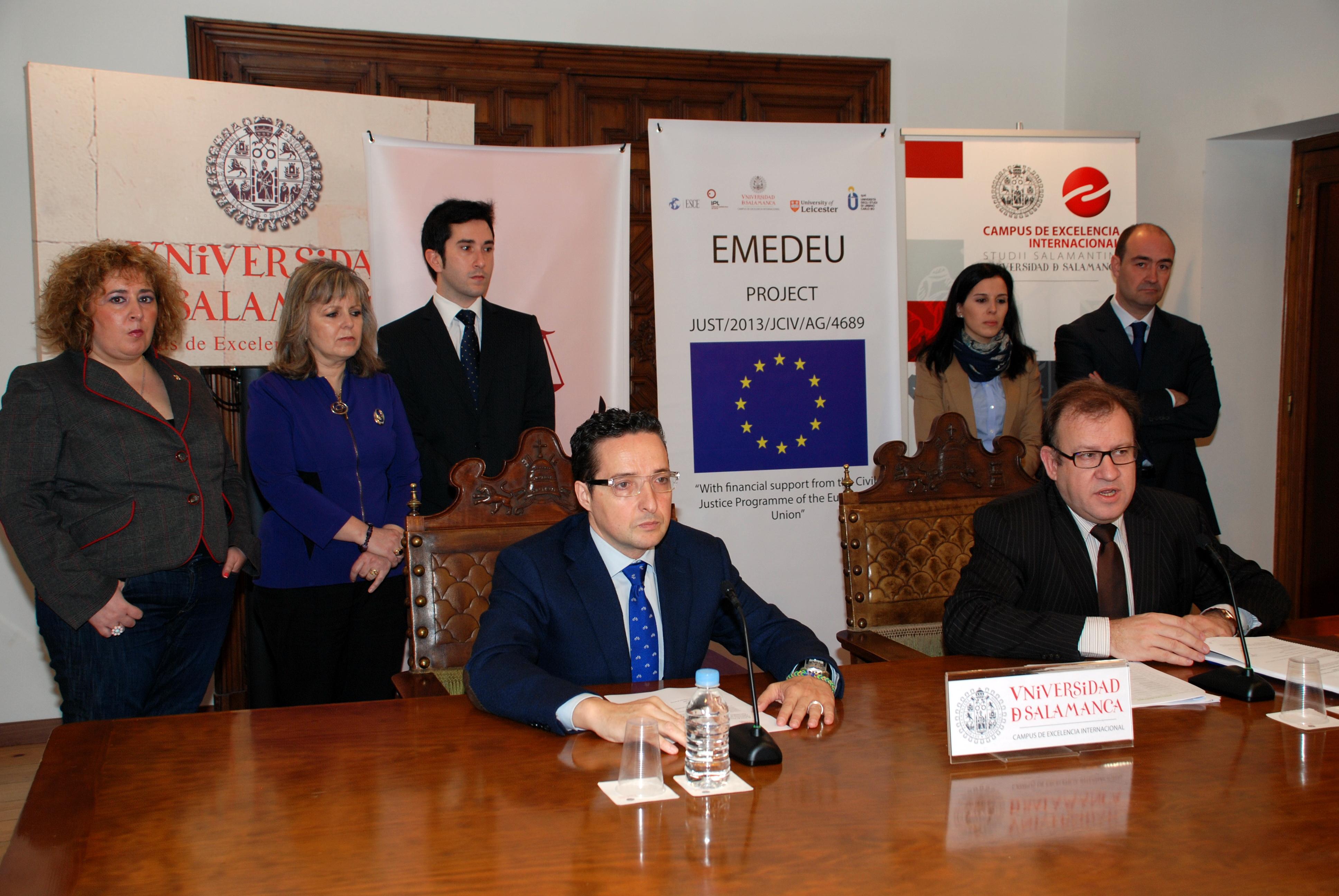 El Área de Derecho Procesal de la Universidad de Salamanca coordinará un proyecto europeo sobre aplicación de nuevas tecnologías en la resolución extrajudicial de conflictos
