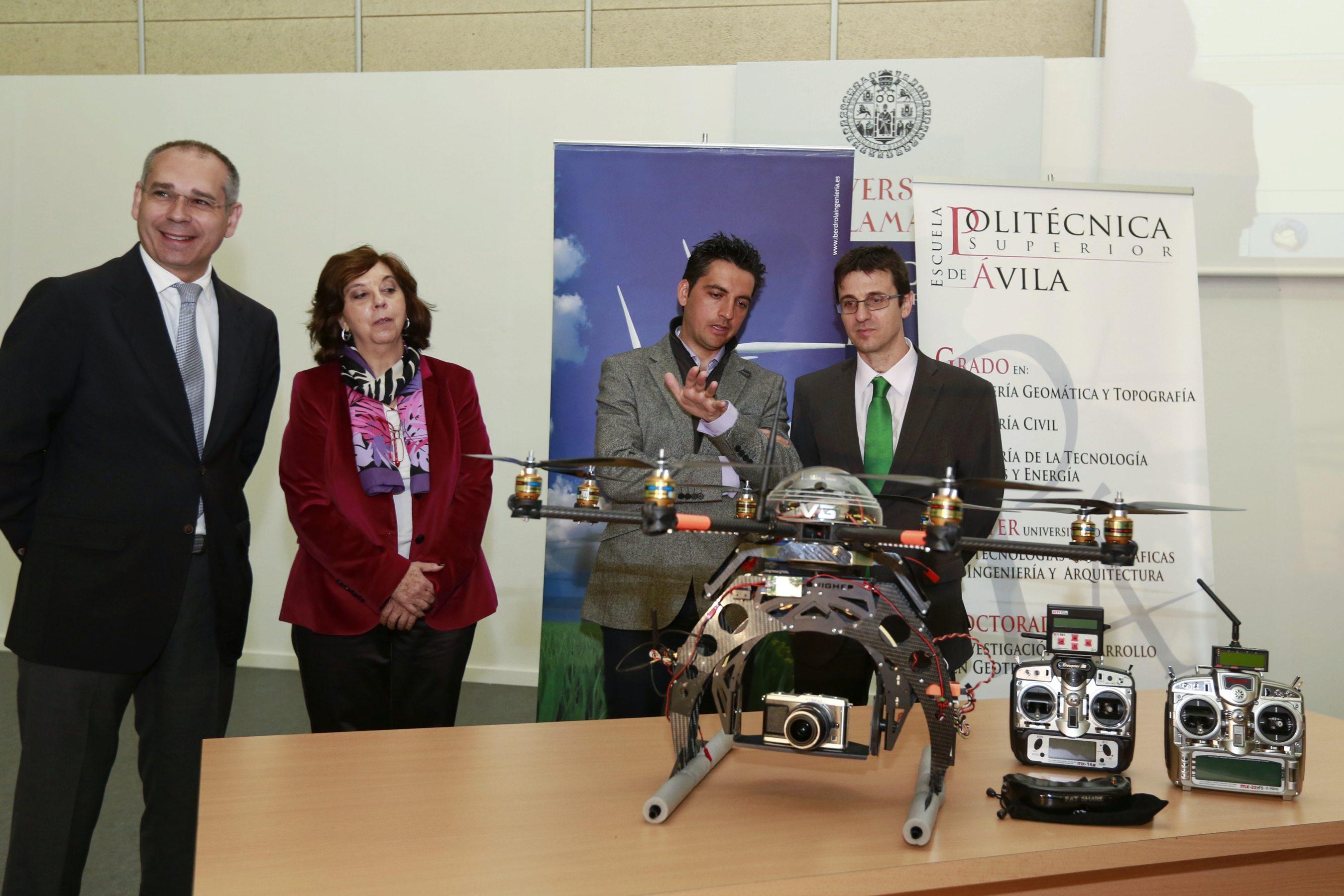La Universidad de Salamanca e Iberdrola Ingeniería finalizan con éxito el proyecto de I+D 'Toma de Datos'