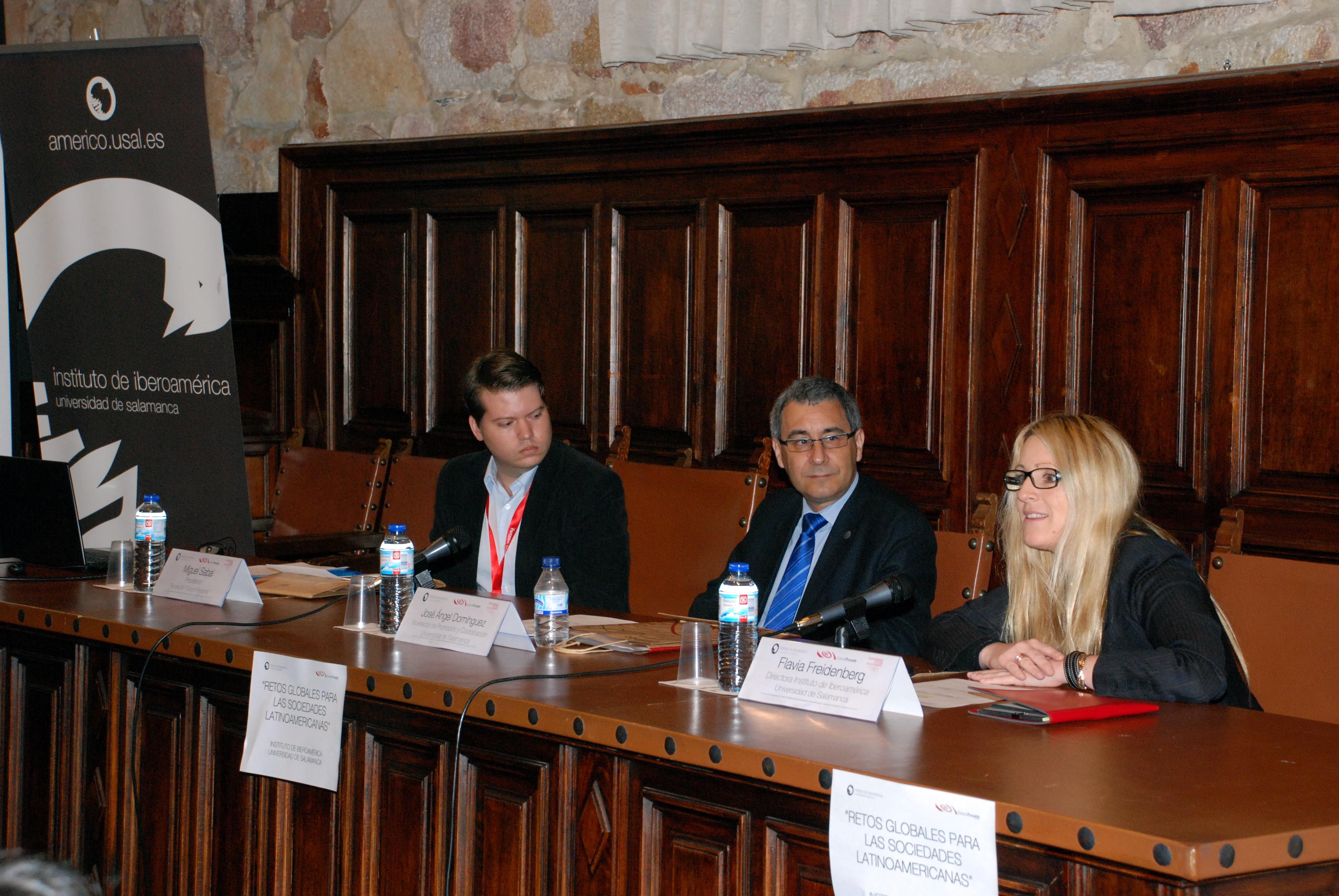 El vicerrector de Promoción y Coordinación inaugura el curso 'Retos globales para las sociedades latinoamericanas'