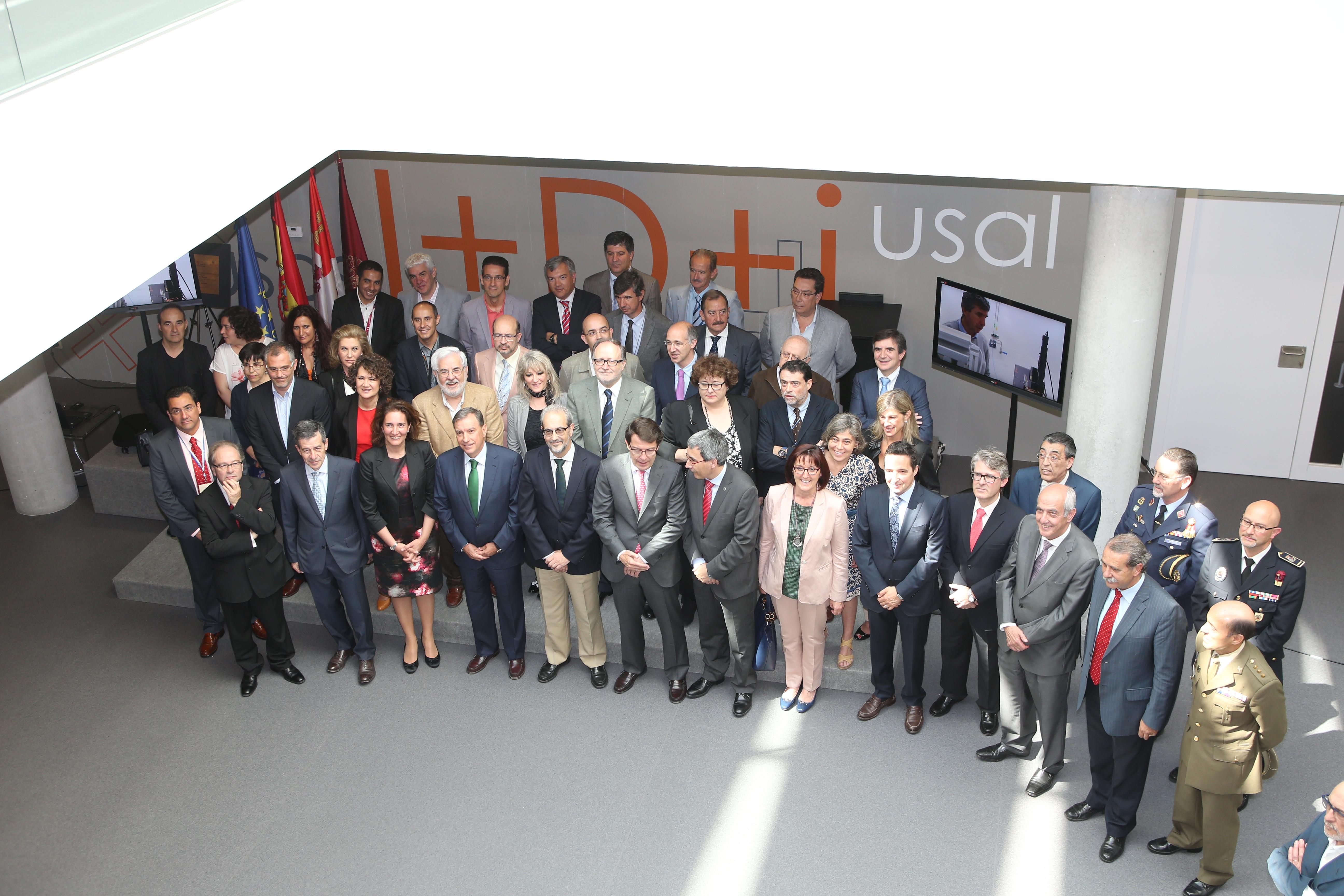 La Universidad de Salamanca impulsa su actividad investigadora con la inauguración de su edificio Multiusos I+D+i