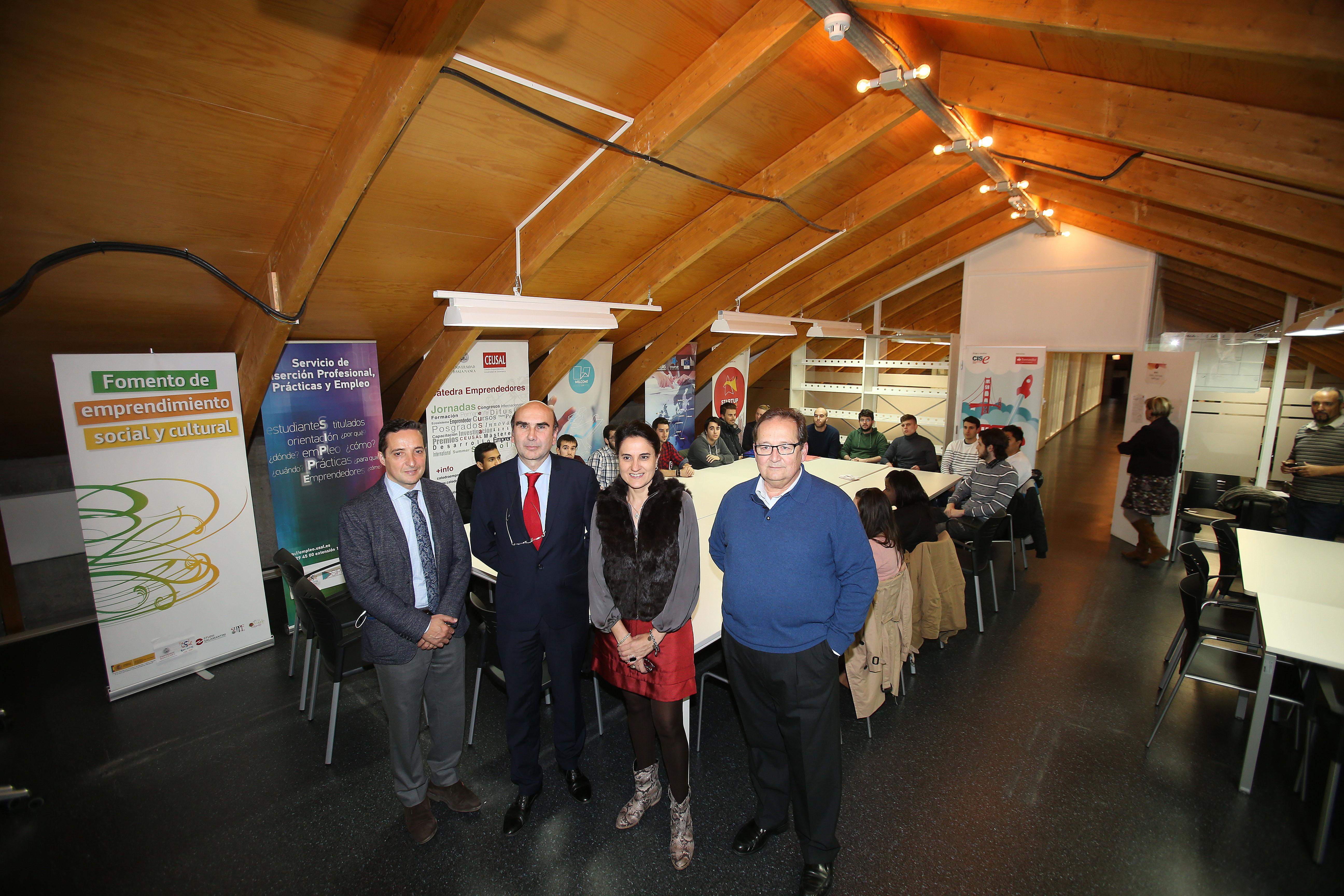 La Universidad de Salamanca participa en la nueva edición de Santander YUZZ 'Jóvenes con ideas' con 20 nuevos proyectos emprendedores