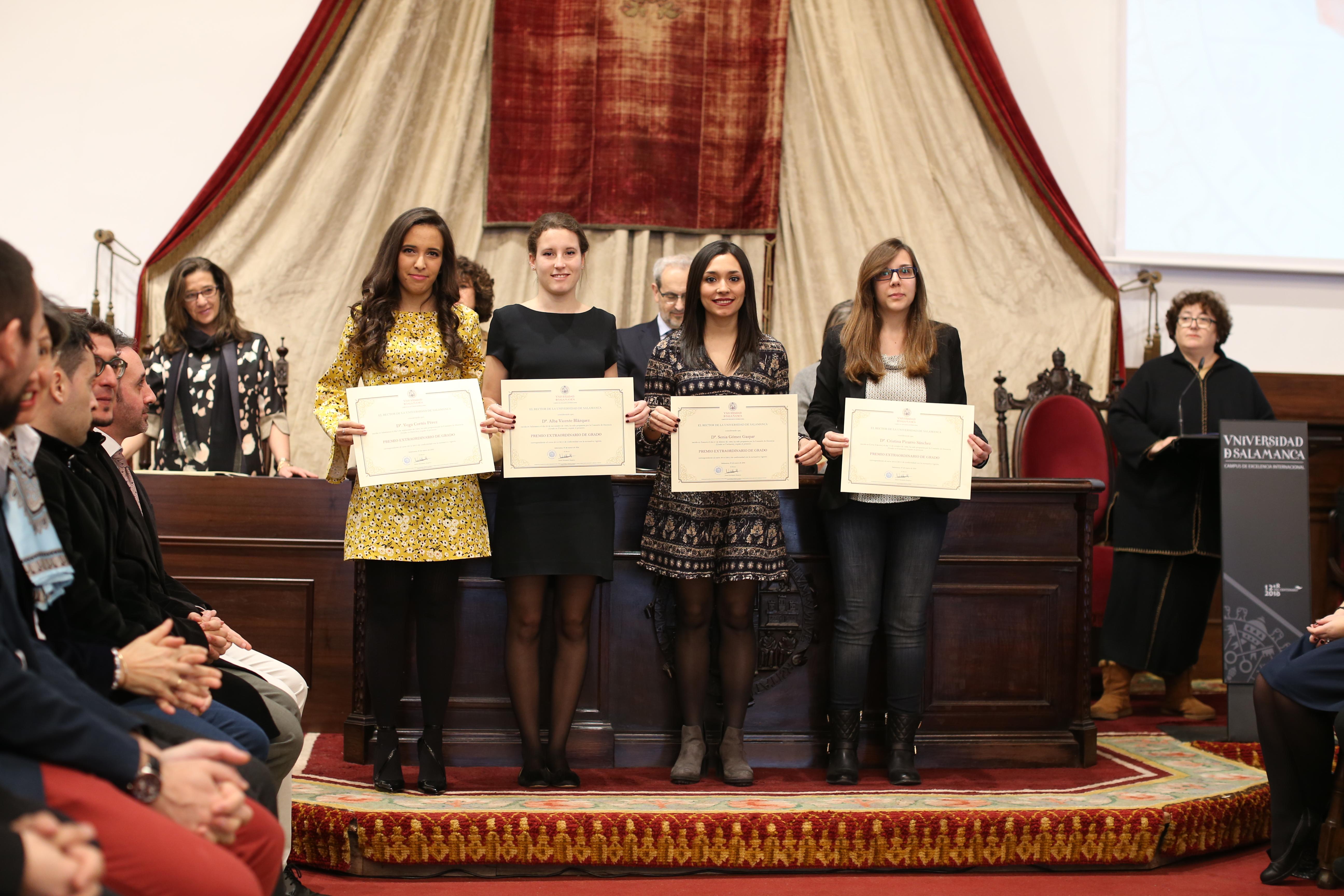 Fotografía de Premio Extraordinario de Grado y de Grado de Salamanca 4