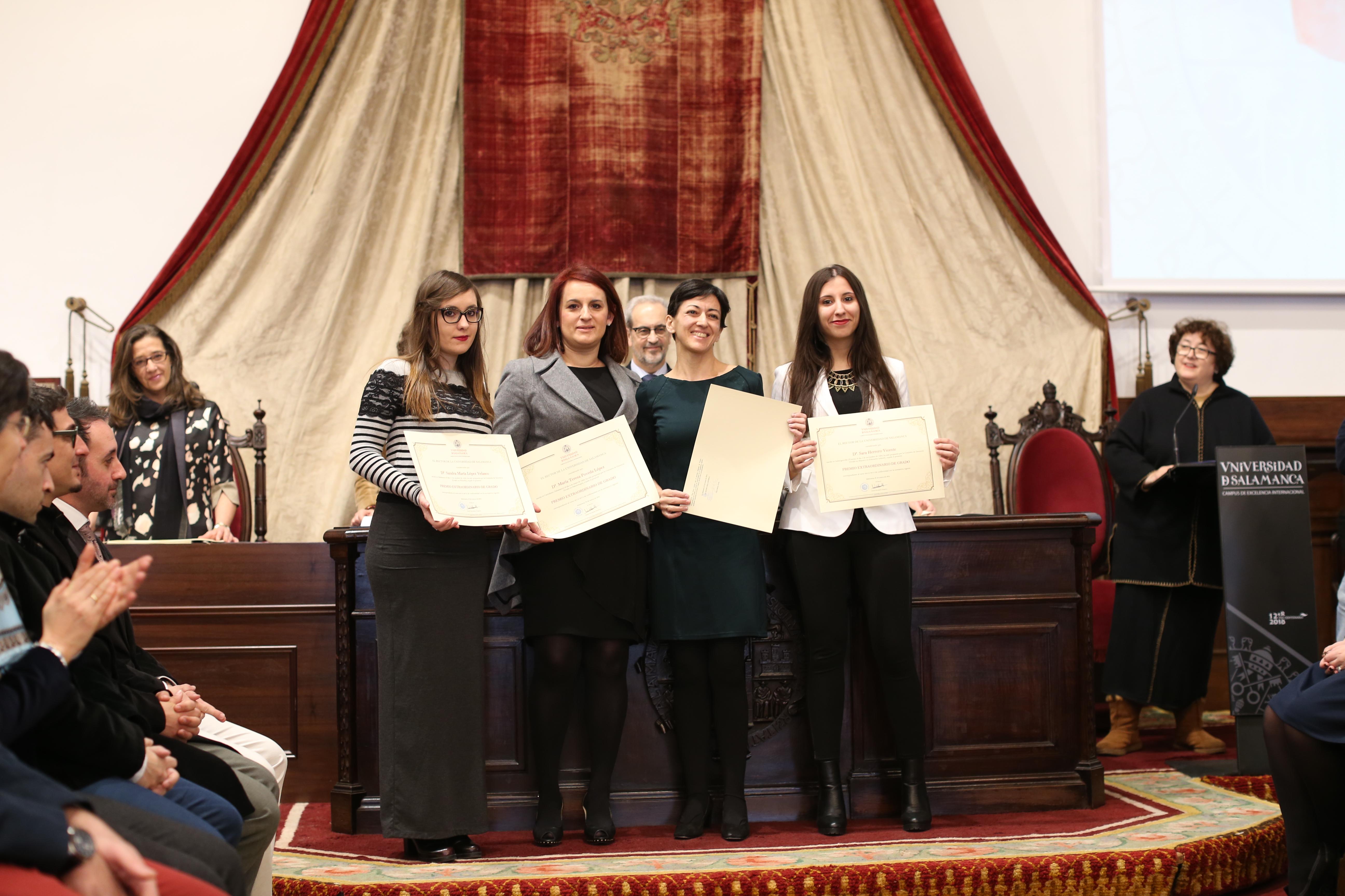 Fotografía de Premio Extraordinario de Grado y de Grado de Salamanca 5