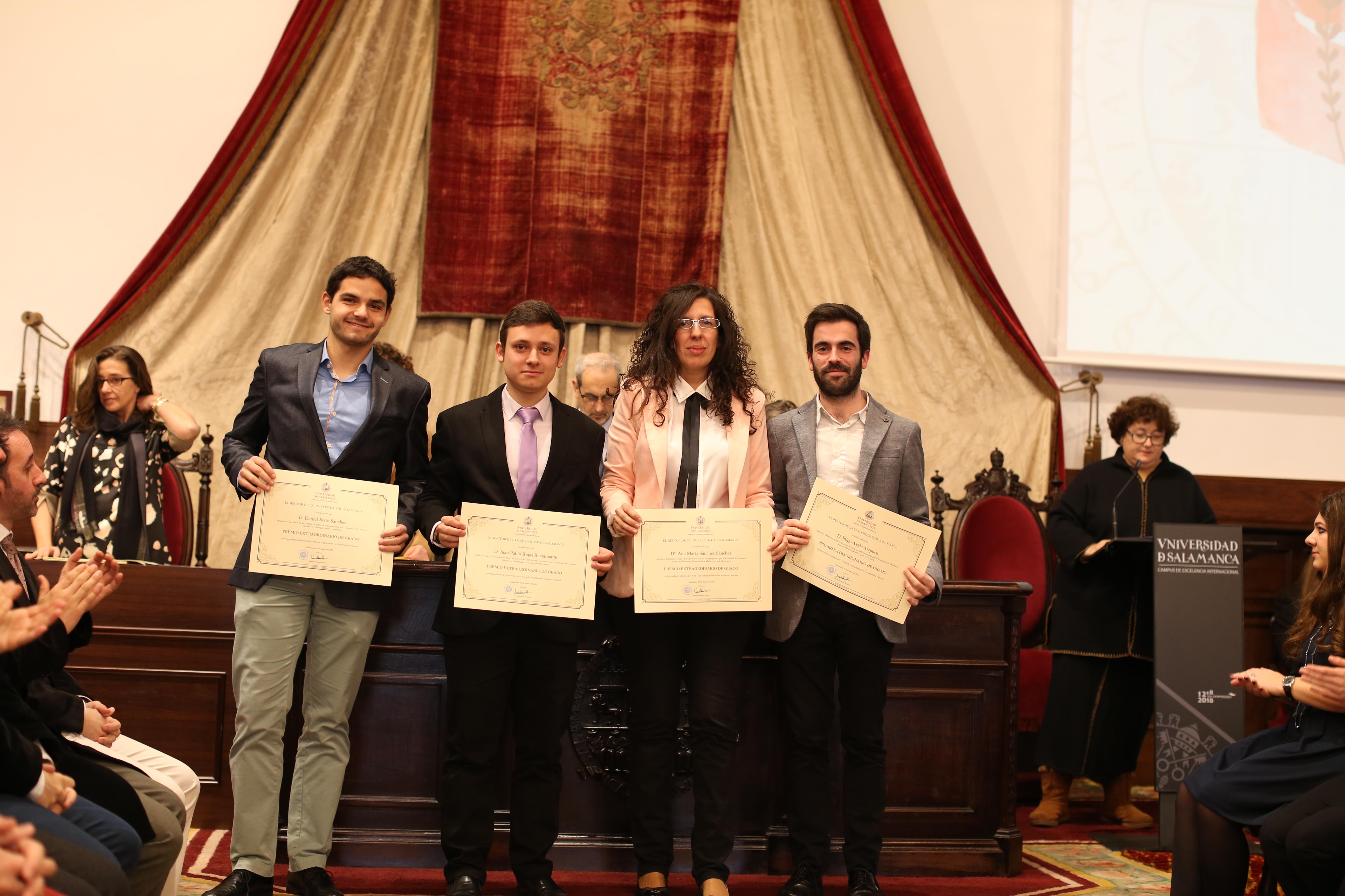 Fotografía de Premio Extraordinario de Grado y de Grado de Salamanca 7