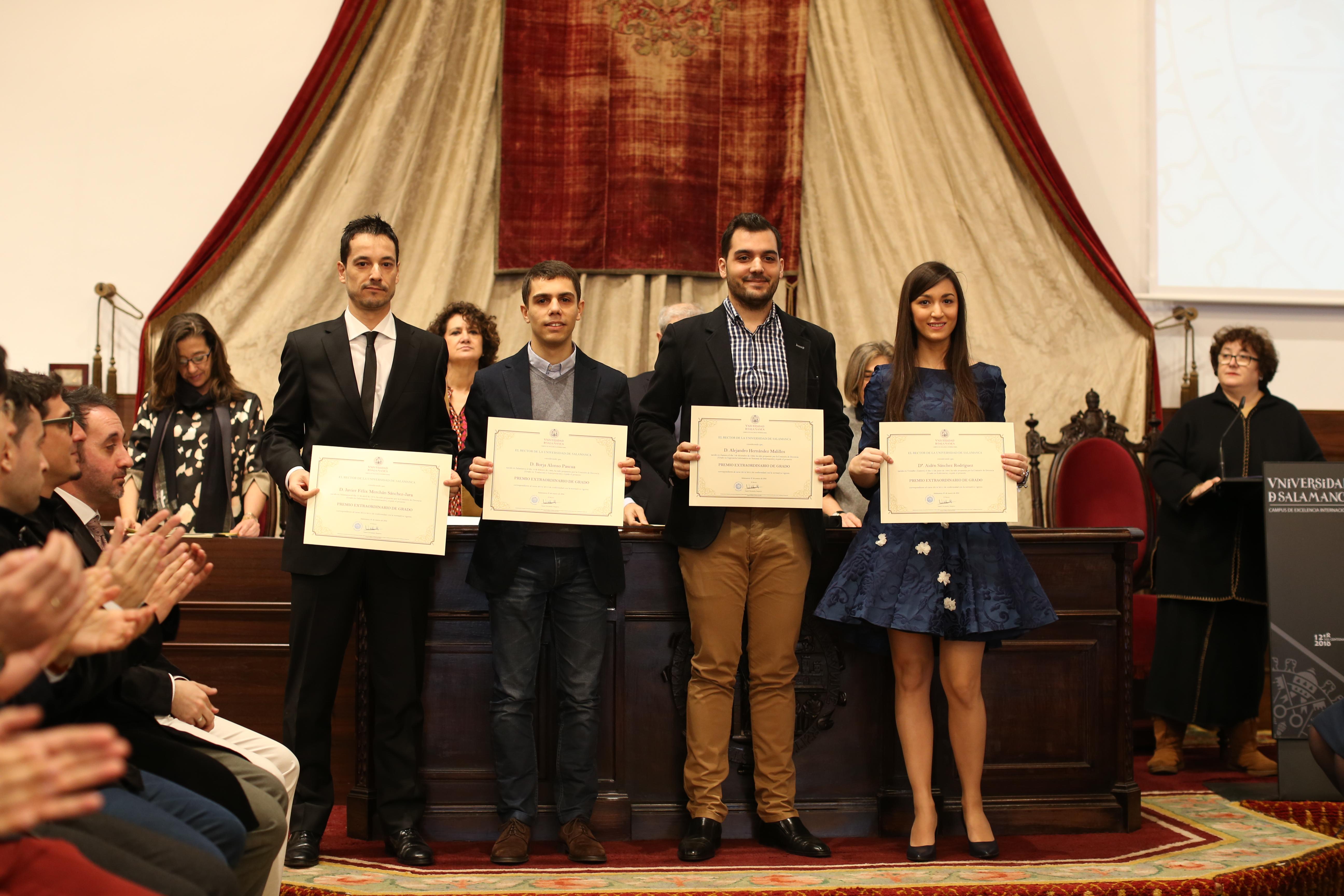 Fotografía de Premio Extraordinario de Grado y de Grado de Salamanca 12