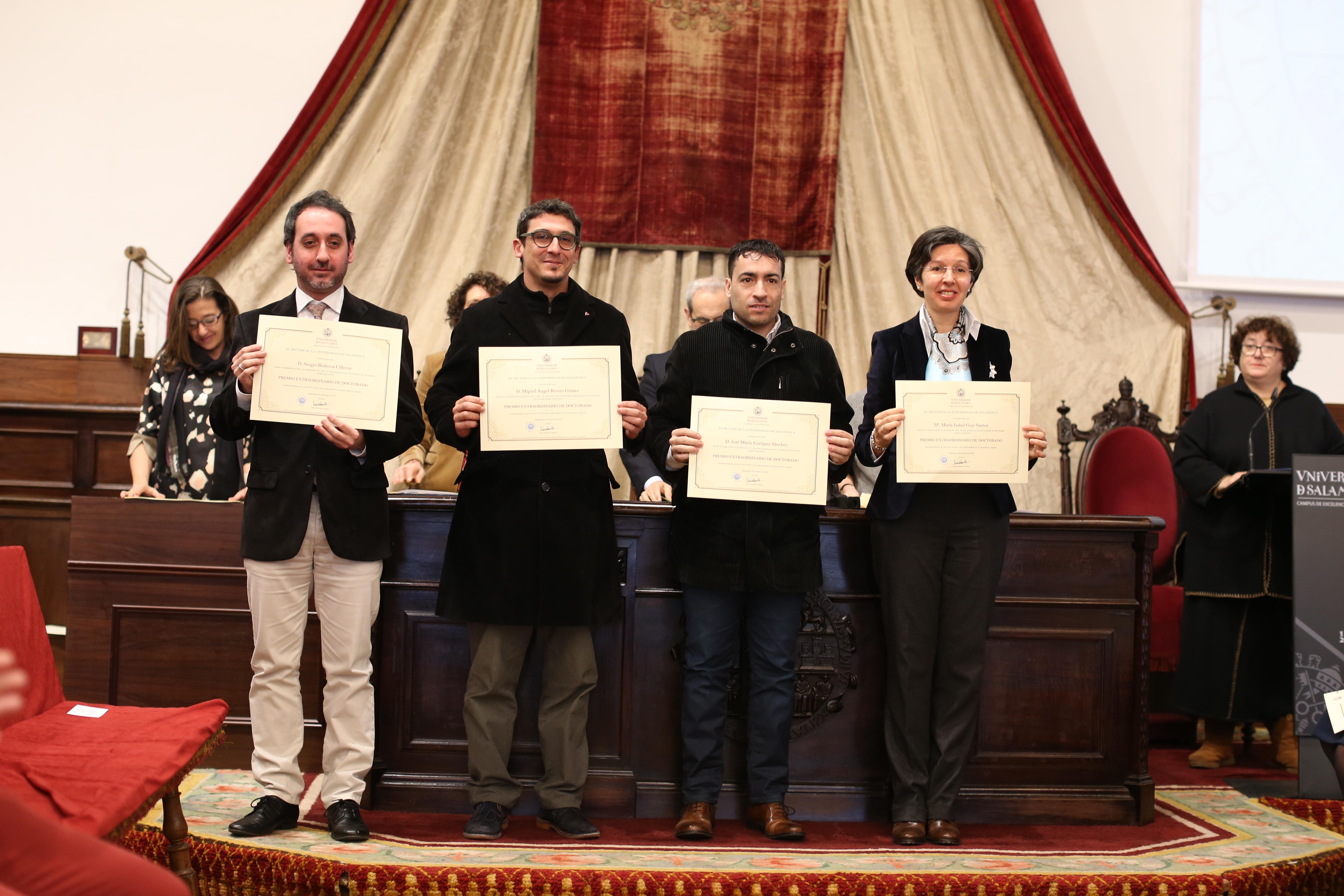 Fotografía de Premio Extraordinario de Doctorado - 2