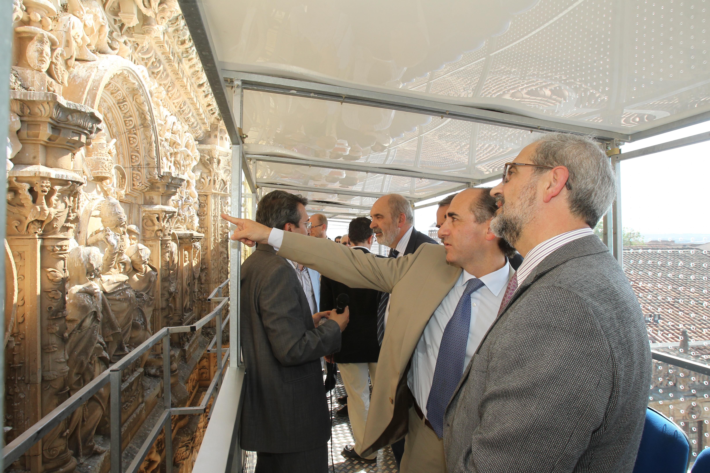 ASCENSVM, en marcha para difundir la fachada de la Universidad de Salamanca y su restauración