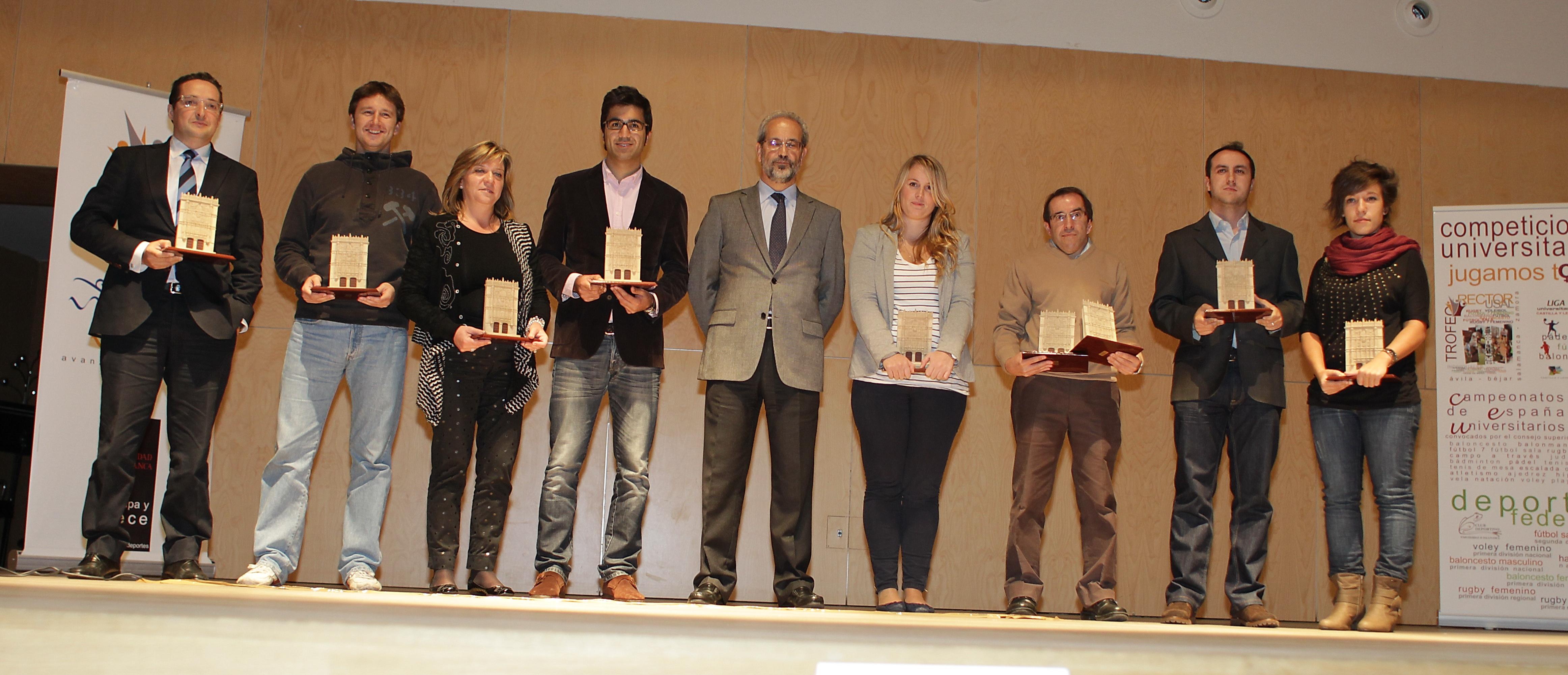 Entrega de los XXII Premios Anuales del Deporte Universitario. Curso 2010-2011