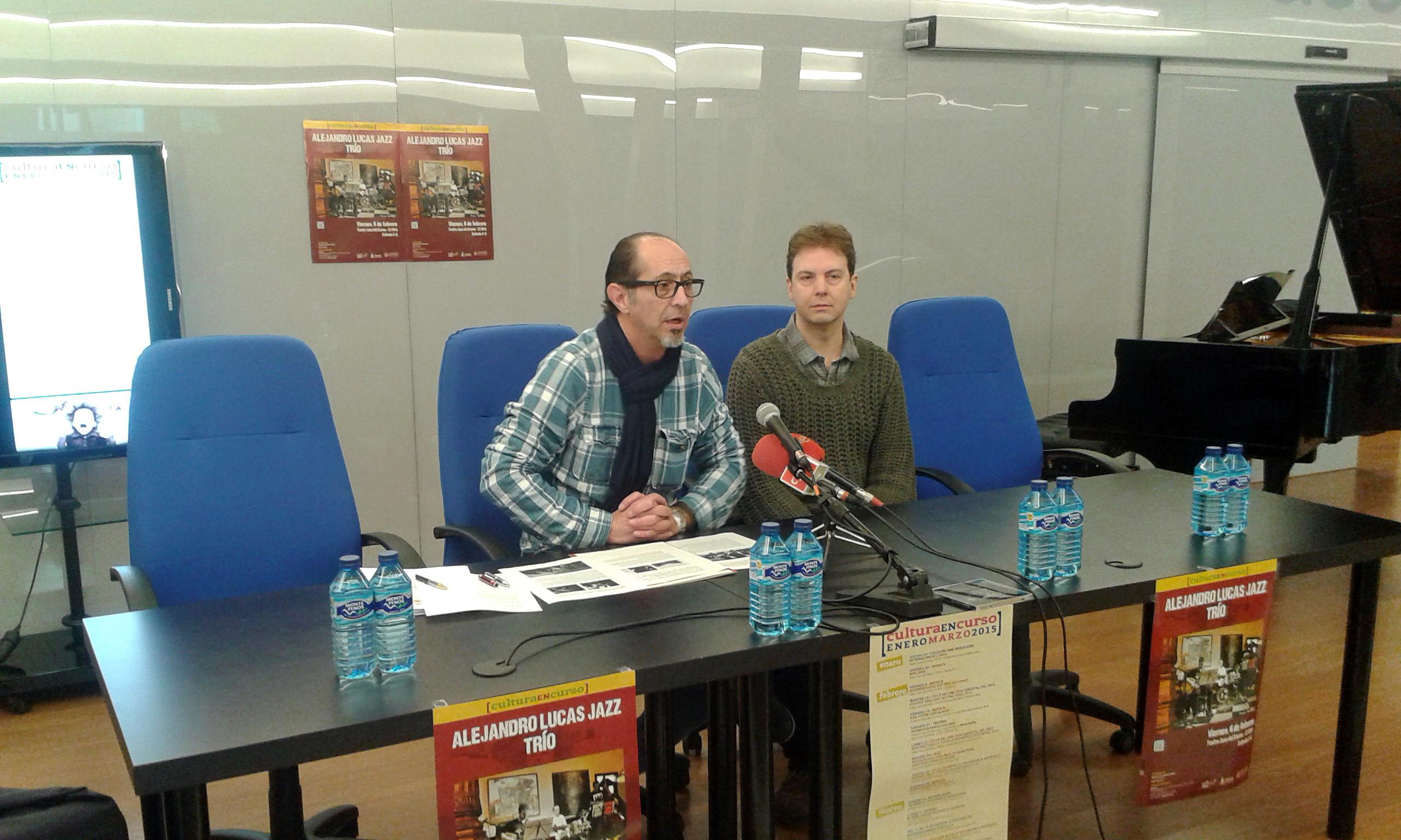 RUEDA DE PRENSA: Alejandro Lucas Jazz Trío participa en el programa Cultura en Curso de la Universidad de Salamanca